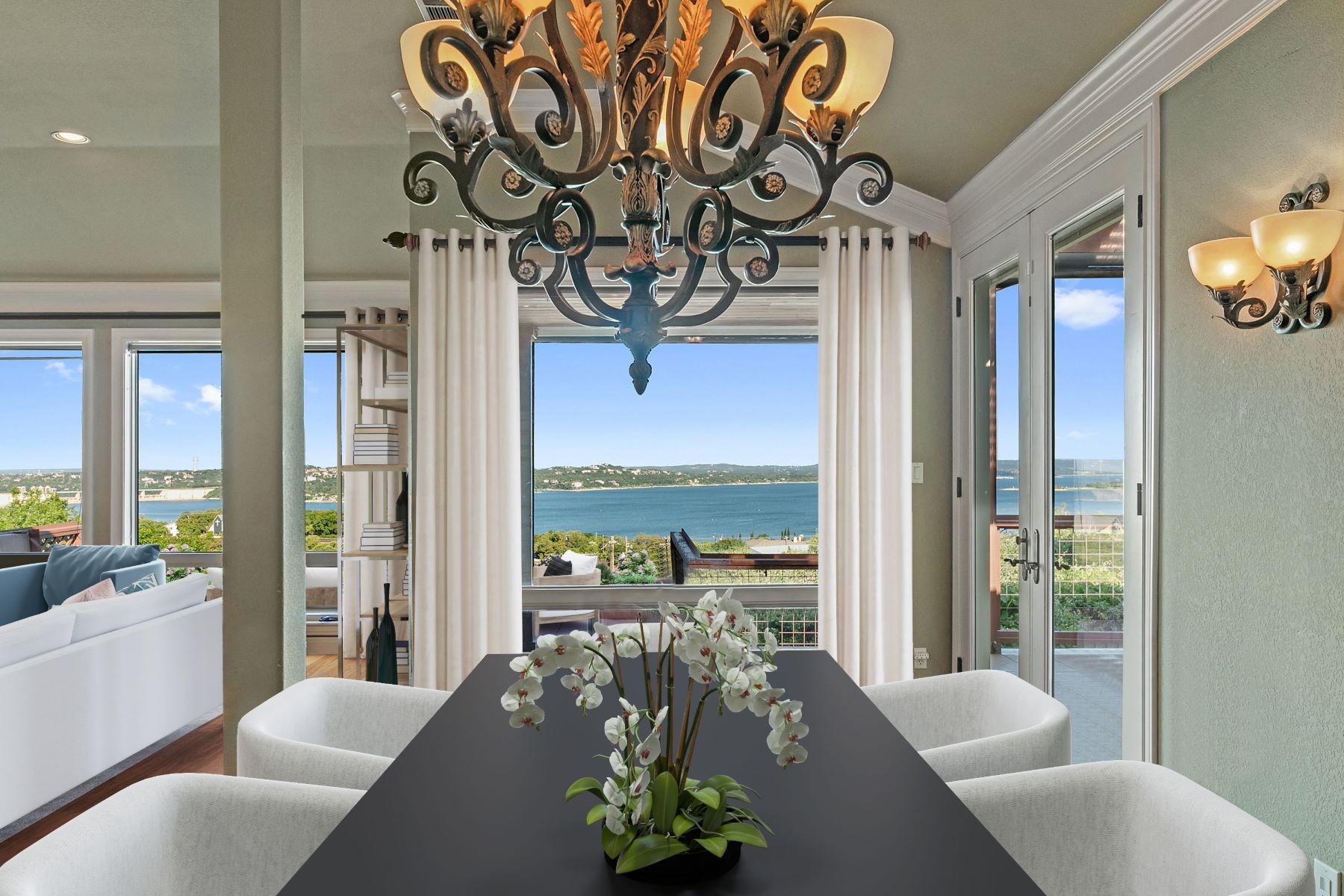 Single Family Homes 为 销售 在 Panoramic Lake Travis and Hill Country Views! 12709 Cedar Street 奥斯丁, 得克萨斯州 78732 美国