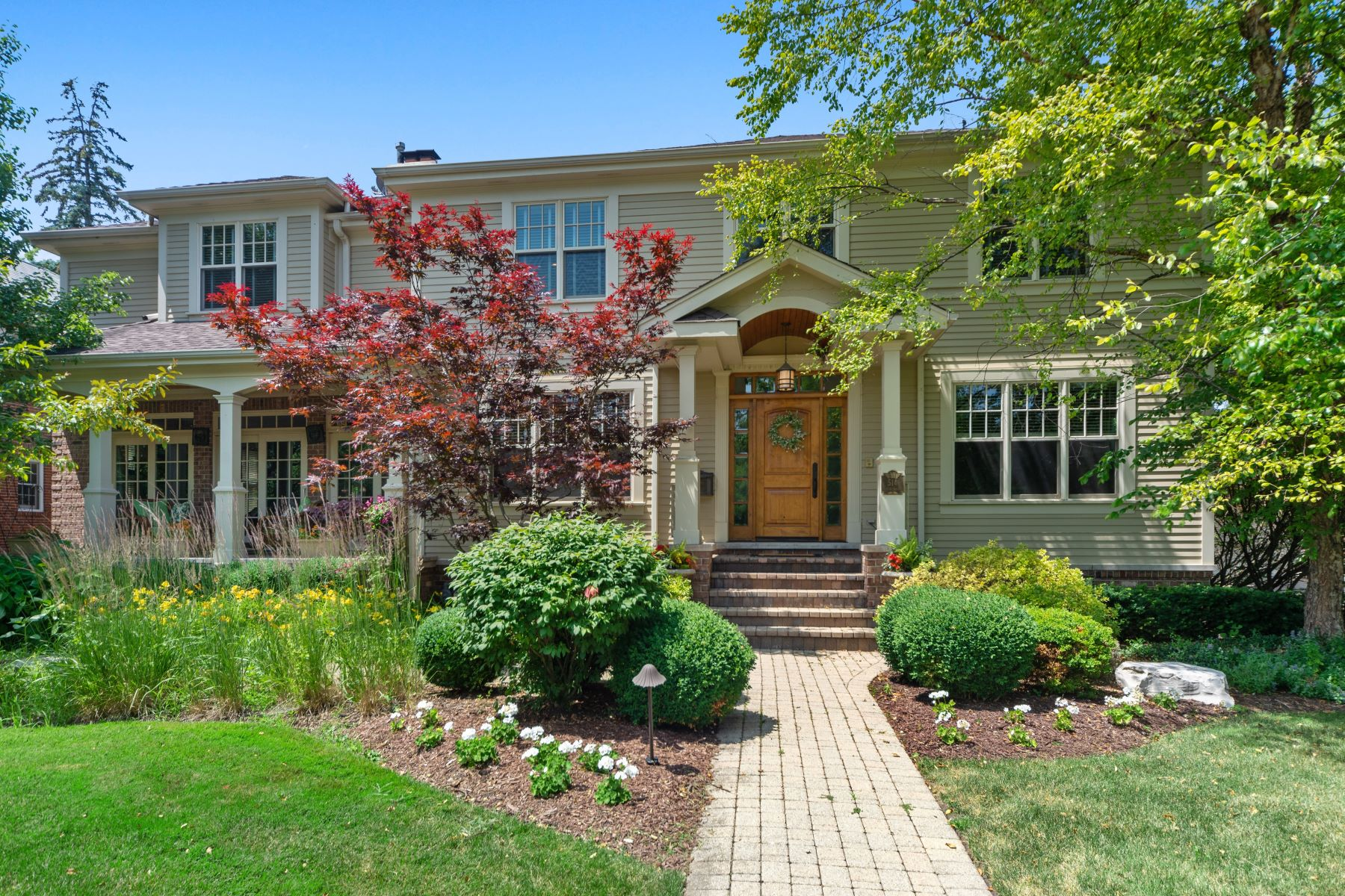 Single Family Homes 용 매매 에 Custom Built to Perfection 514 N Ashland Avenue, Park Ridge, 일리노이즈 60068 미국