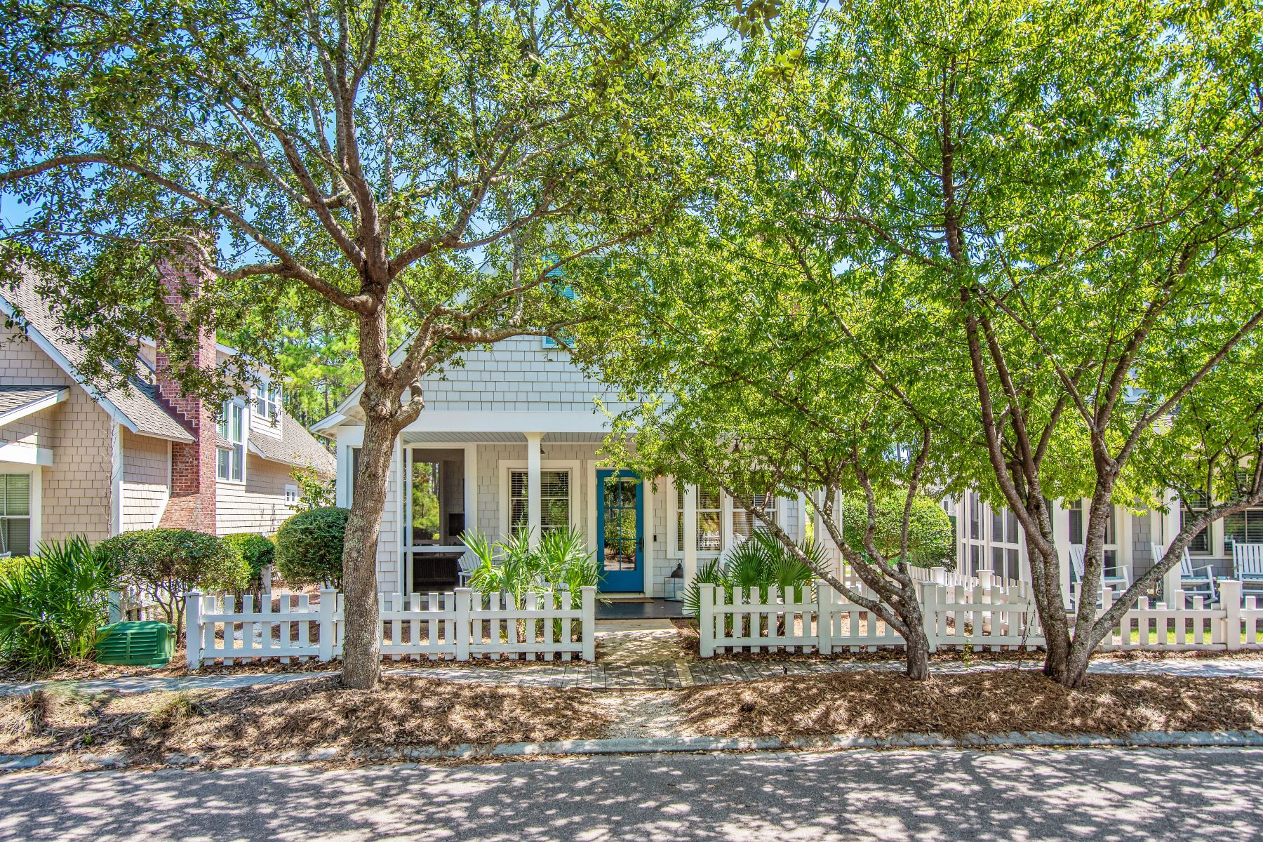 Single Family Homes for Sale at Charming Home on the Beach Side of 30A 253 Salt Box Lane, Watersound, Florida 32461 United States