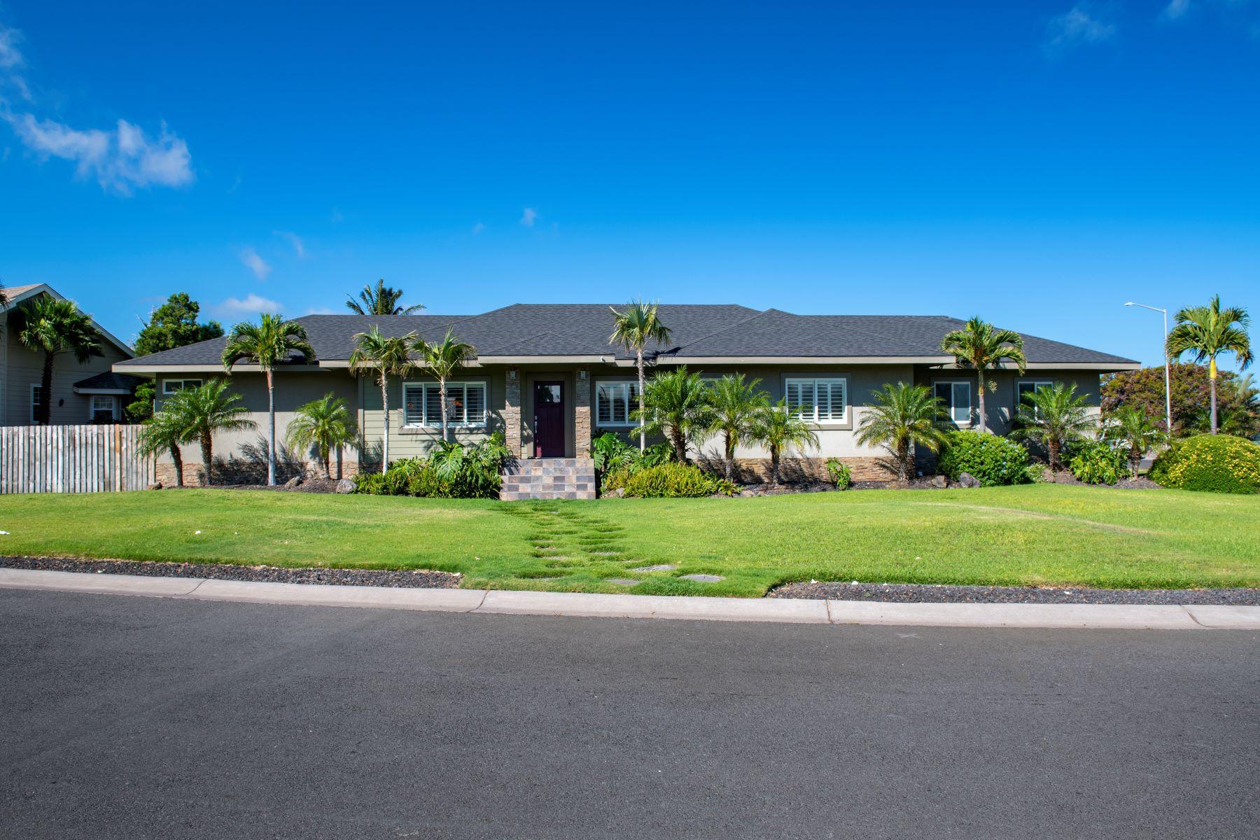 Single Family Homes 为 销售 在 Waikoloa Custom Home 68-3564 Awamoa Place 威克洛亚, 夏威夷 96738 美国