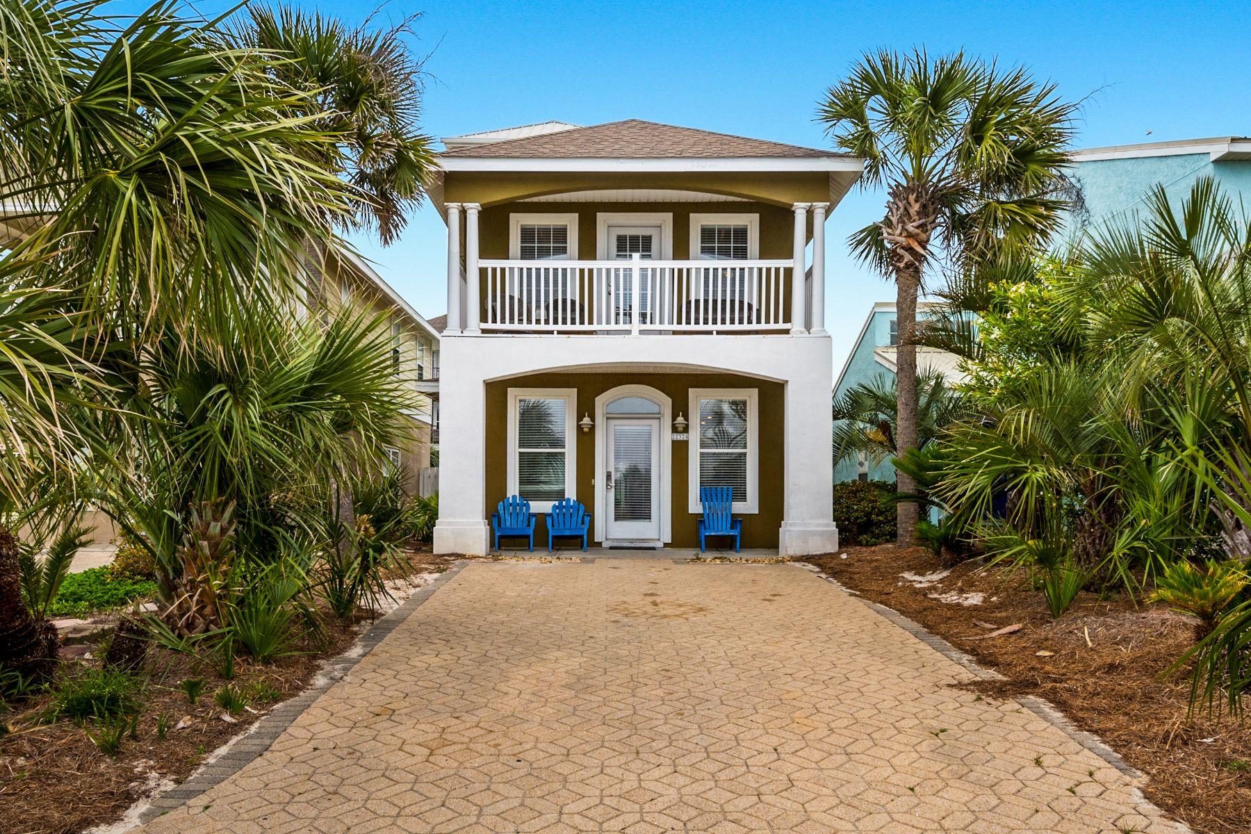 Single Family Homes für Verkauf beim Multiple Level Home with Unobstructed Gulf Views Near 30A 22324 Front Beach Road, Panama City Beach, Florida 32413 Vereinigte Staaten