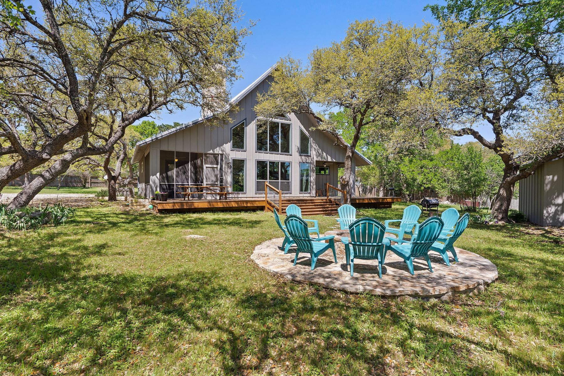 Single Family Homes for Sale at 134 Narrows Road, Blanco, TX 78606 134 Narrows Road Blanco, Texas 78606 United States