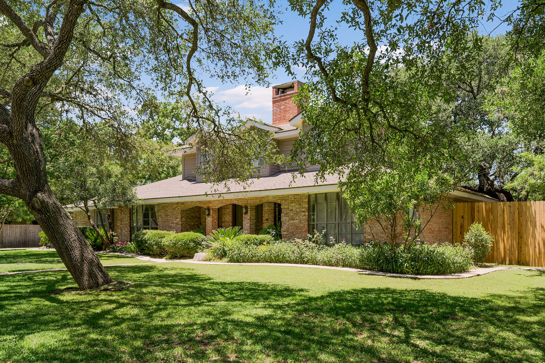 Single Family Homes for Sale at Stunning Home Nestled on a Large Oak Studded Lot 505 Sagecrest Drive, San Antonio, Texas 78232 United States