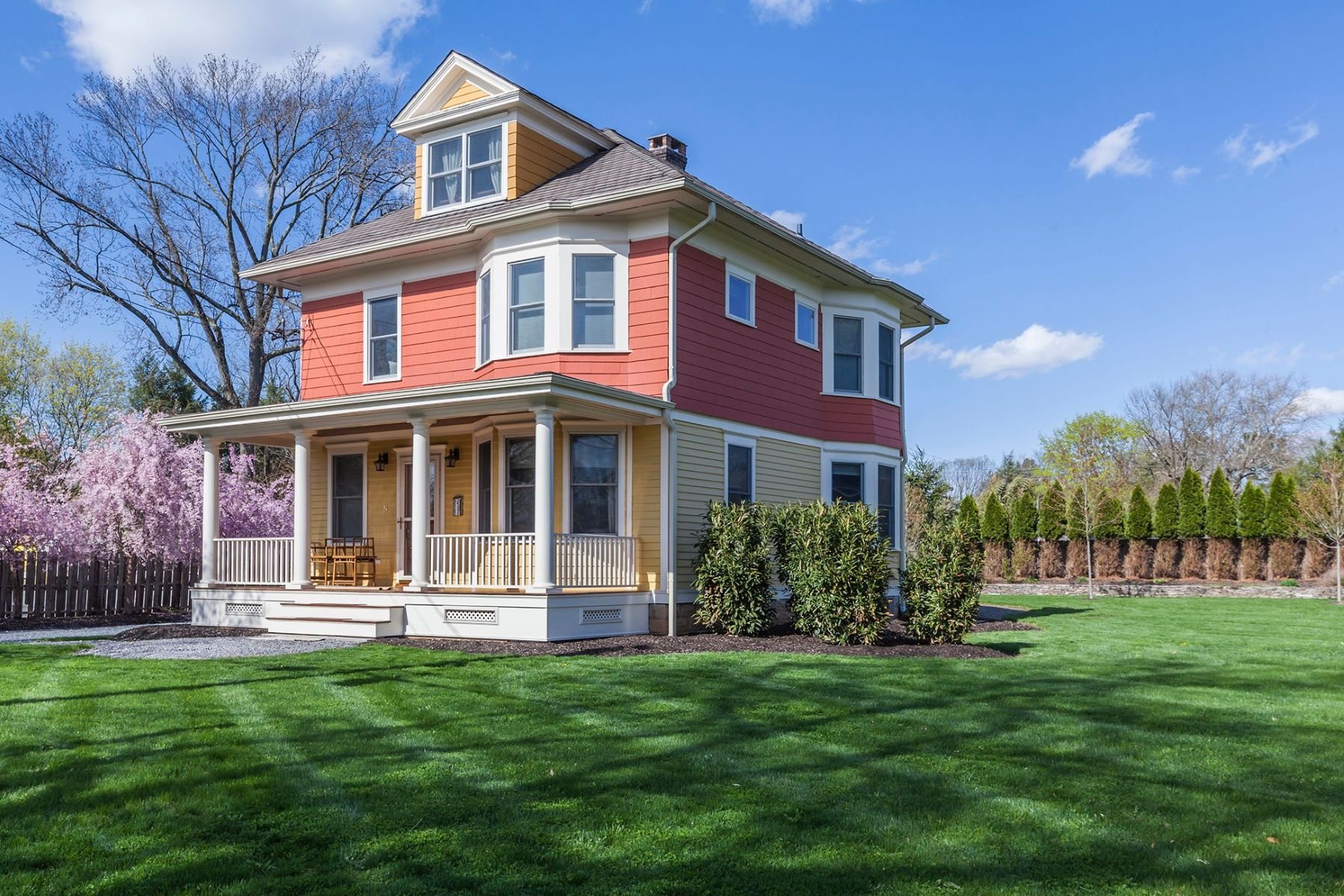 Single Family Homes voor Verkoop op Renovated Colonial in Historic Kingston 5 Church Street, Kingston, New Jersey 08528 Verenigde Staten