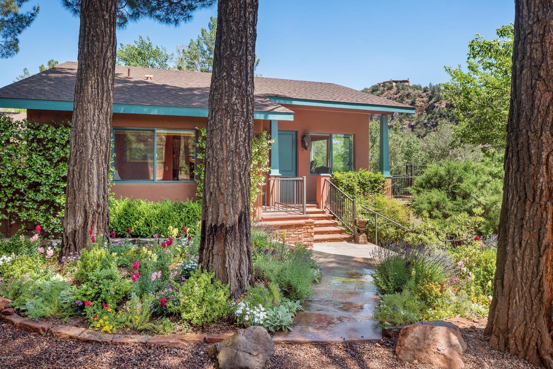 Single Family Homes για την Πώληση στο Creekside Sedona Ranch 1675 Chavez Ranch Rd, Sedona, Αριζονα 86336 Ηνωμένες Πολιτείες