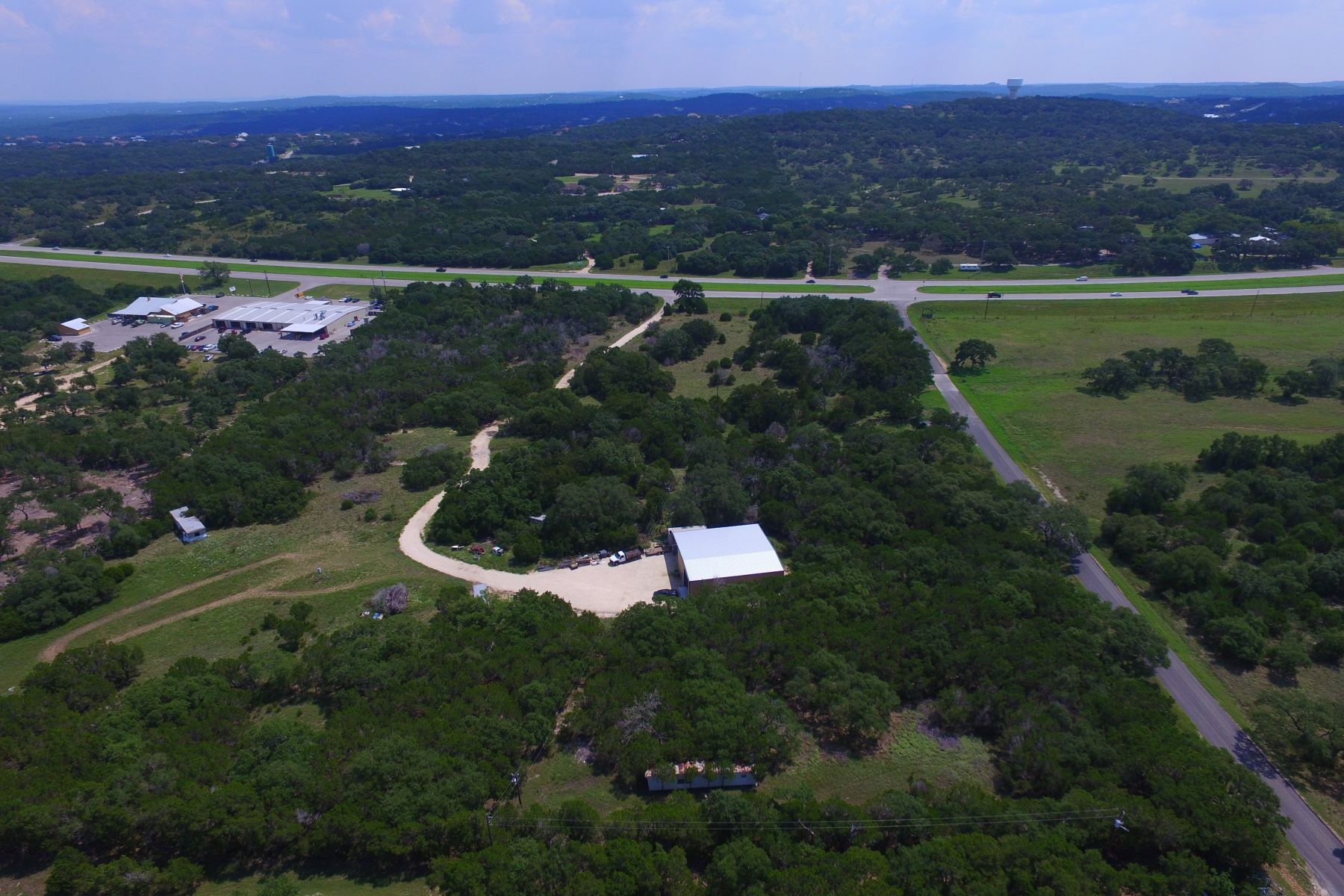 Land for Sale at 9.1+/- Acres in Spring Branch 5335 U.S. 281 Spring Branch, Texas 78070 United States