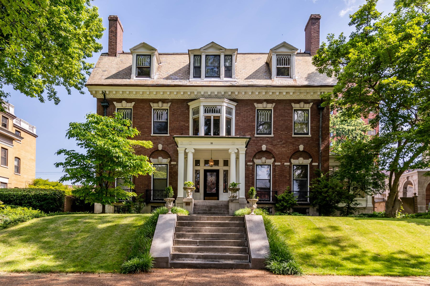 Property for Sale at Historic Manse in the popular Washington Terrace neighborhood of the CWE 11 Washington Terrace St. Louis, Missouri 63112 United States