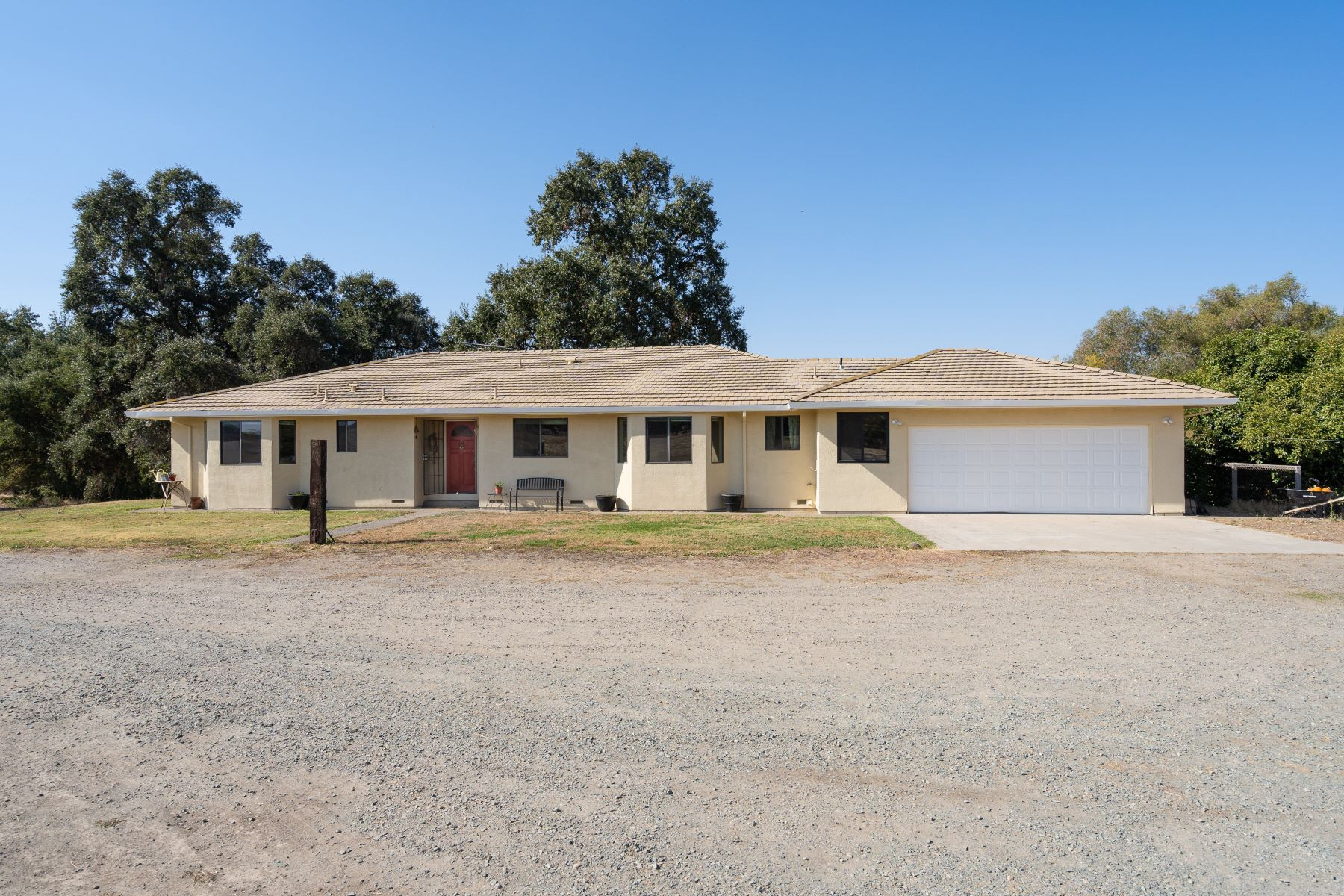 Single Family Homes for Sale at Super Cute Home on 3 Usable Acres Ready For Your Horses 24601 Ranchero Clements, California 95227 United States