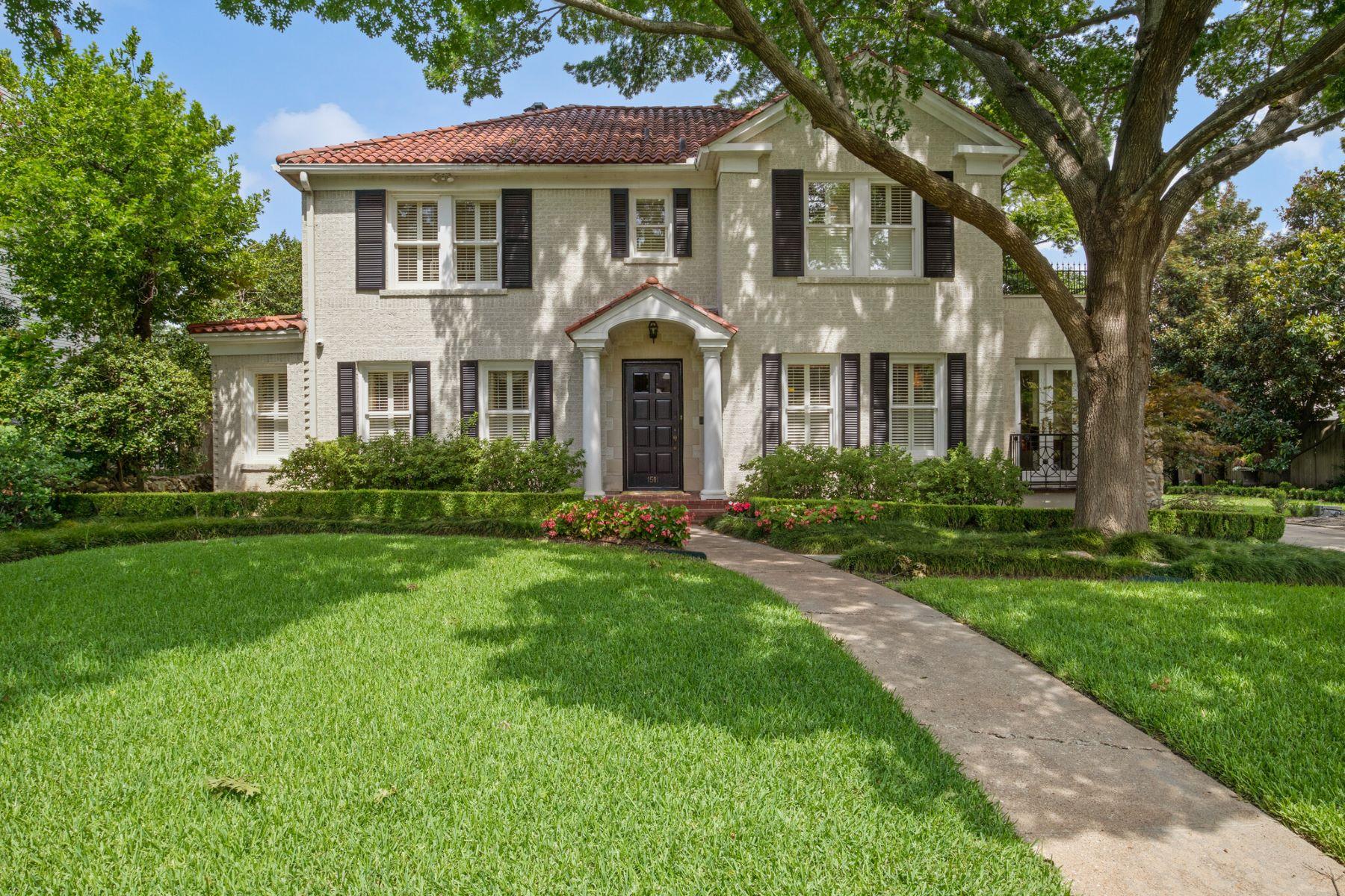 Single Family Homes for Sale at 1511 Washington Terrace, Fort Worth, TX, 76107 1511 Washington Terrace Fort Worth, Texas 76107 United States