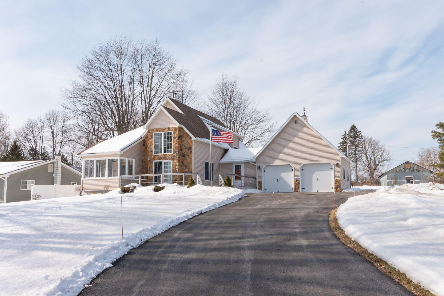 Single Family Homes for Sale at Lake Champlain Turn Key Home 3409 U.S. 9 Peru, New York 12972 United States