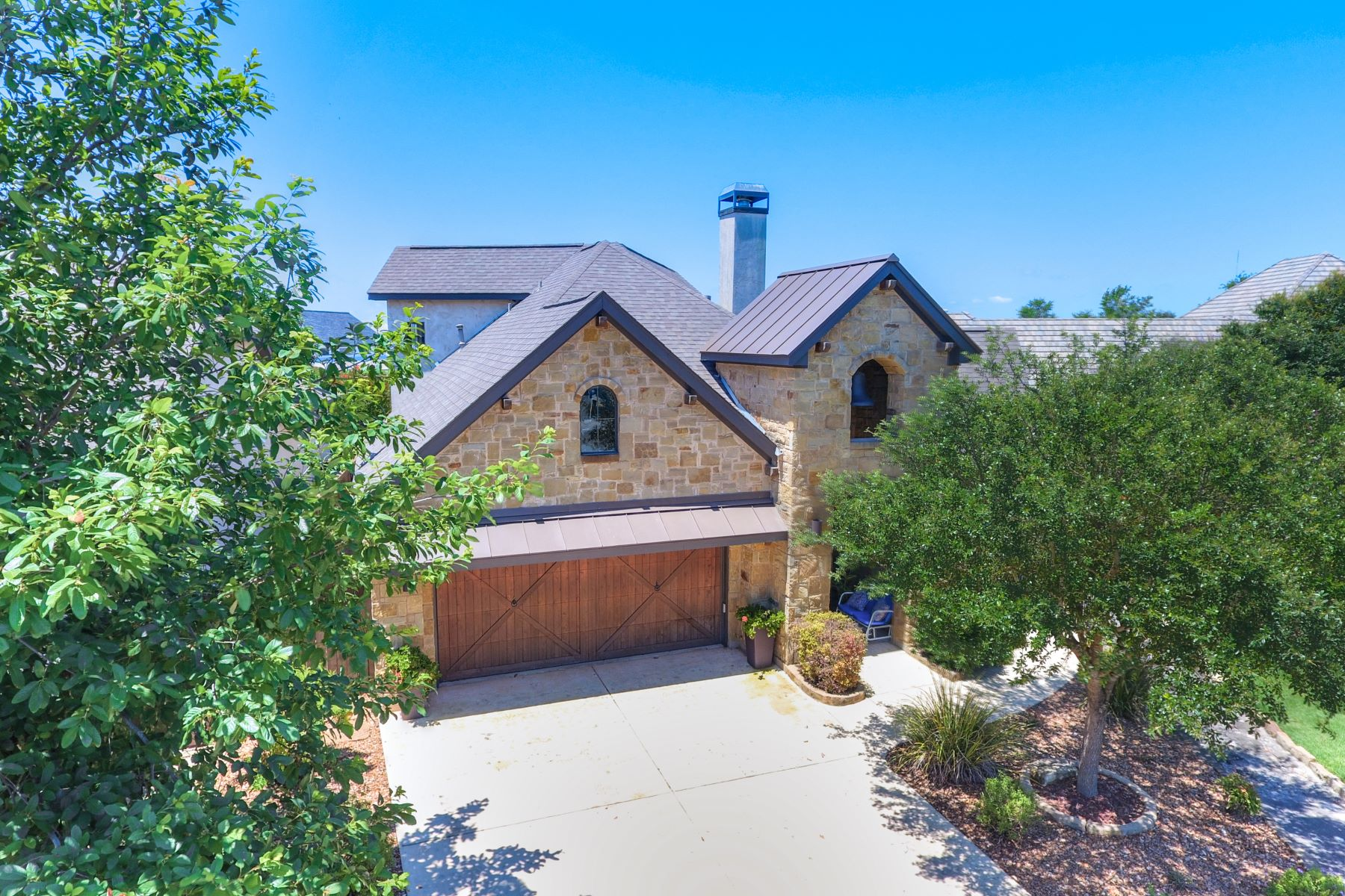 Single Family Homes for Sale at Beautifully Finished in Historic Gruene With River Access 1304 Gruene Leaf Drive New Braunfels, Texas 78130 United States
