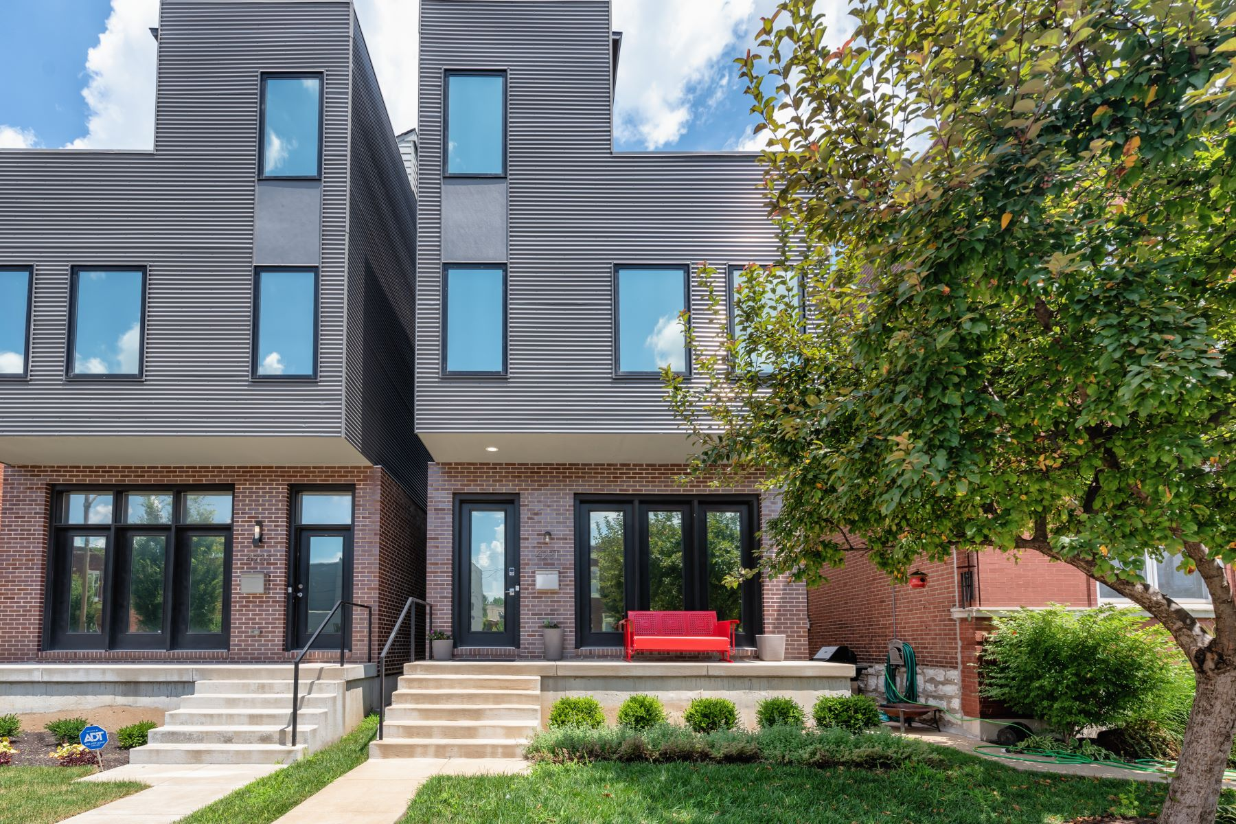 Single Family Homes for Sale at Contemporary Living in The Grove 4231 Gibson Avenue St. Louis, Missouri 63110 United States