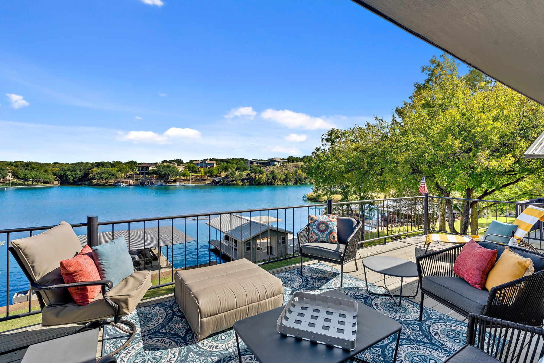 Single Family Homes for Sale at Lake Living on Lake LBJ 804 Sunrise Lane on Lake LBJ Sunrise Beach, Texas 78643 United States