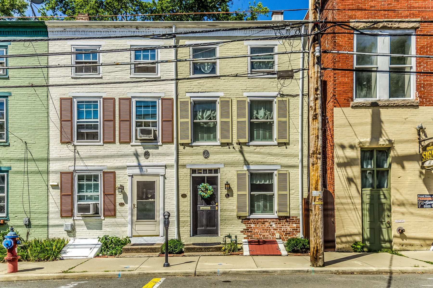 Single Family Homes for Sale at The Best Of Lambertville Living 11 South Main Street, Lambertville, New Jersey 08530 United States