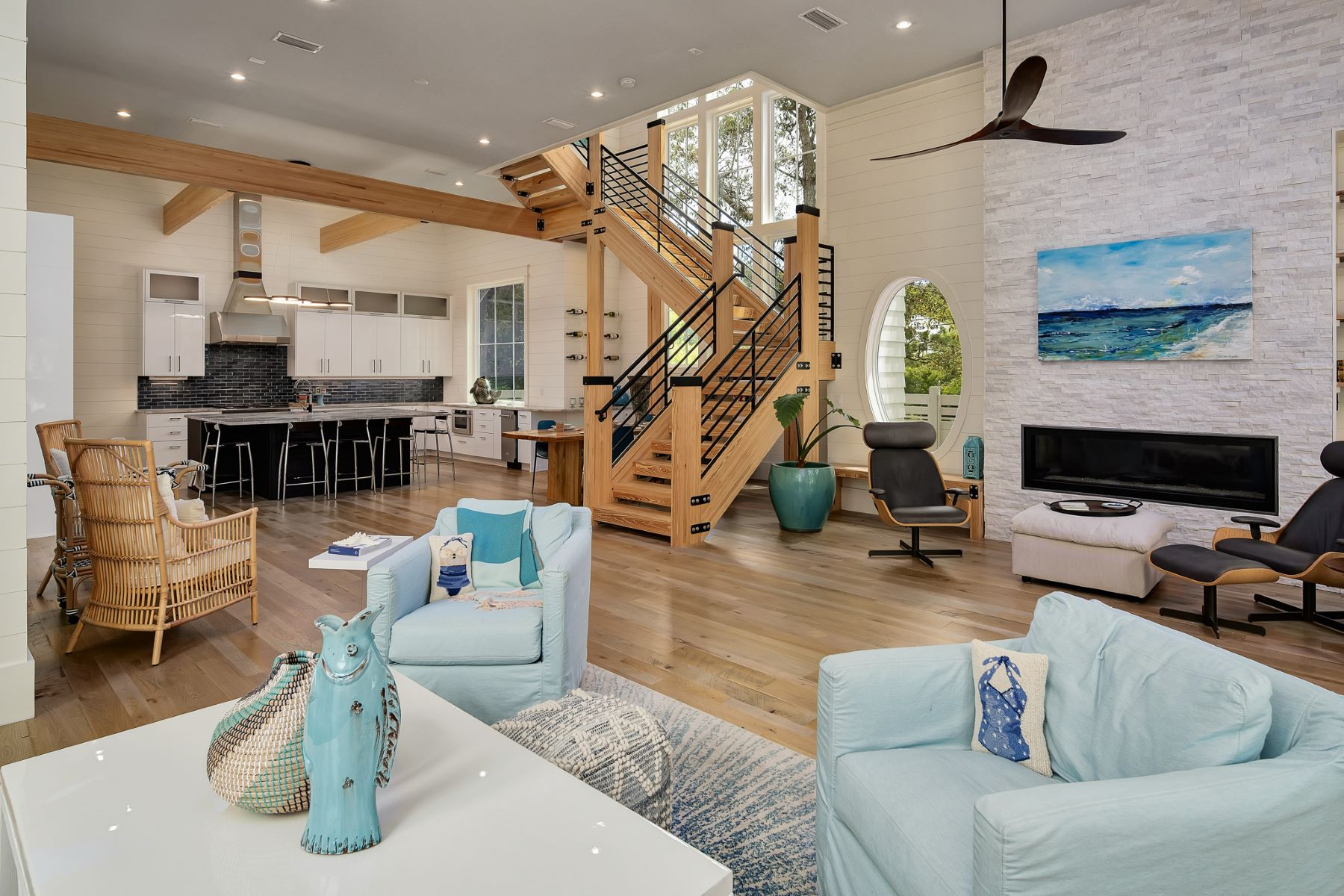 Property for Sale at Coastal Contemporary Living in Custom Built Home With Pool 12 Canal Street, Santa Rosa Beach, Florida 32459 United States