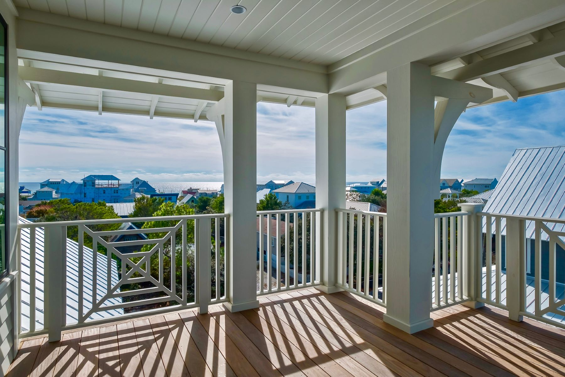 Single Family Homes for Sale at Meticulously Custom Designed Home with Gulf Views in Inlet Beach 212 Walton Rose Lane Inlet Beach, Florida 32461 United States