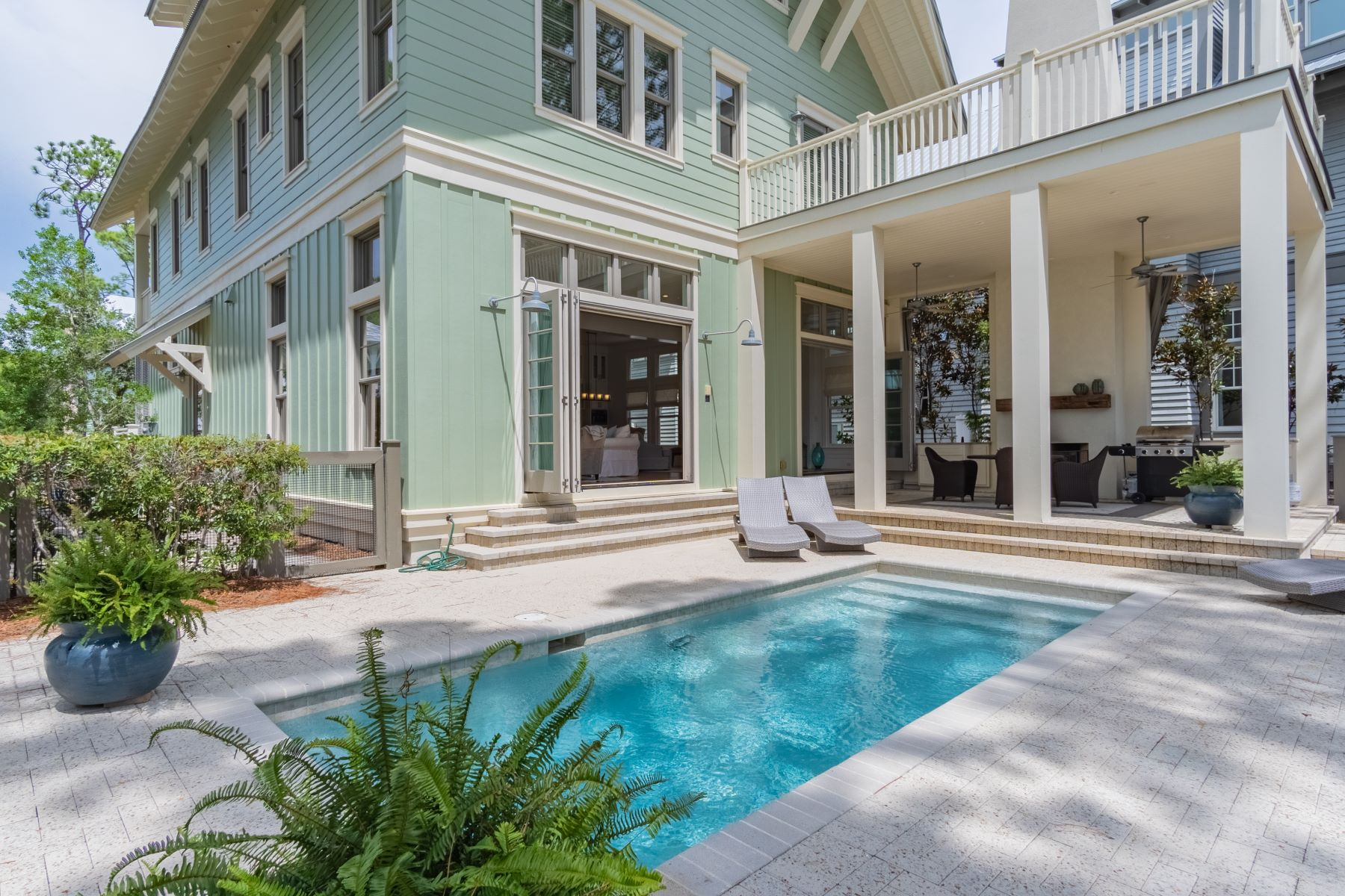 single family homes for Active at Refurbished WaterColor Residence on Western Lake 93 Vermilion Way Santa Rosa Beach, Florida 32459 United States