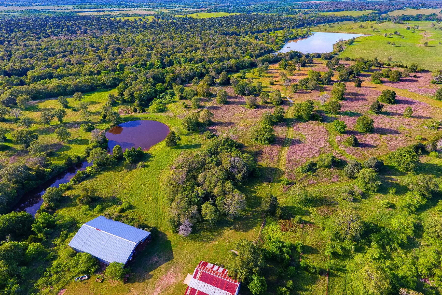 Farm / Ranch / Plantation for Sale at Hunting Paradise on 421 Acres 1404 CR 444, Waelder, Texas, 78629 United States