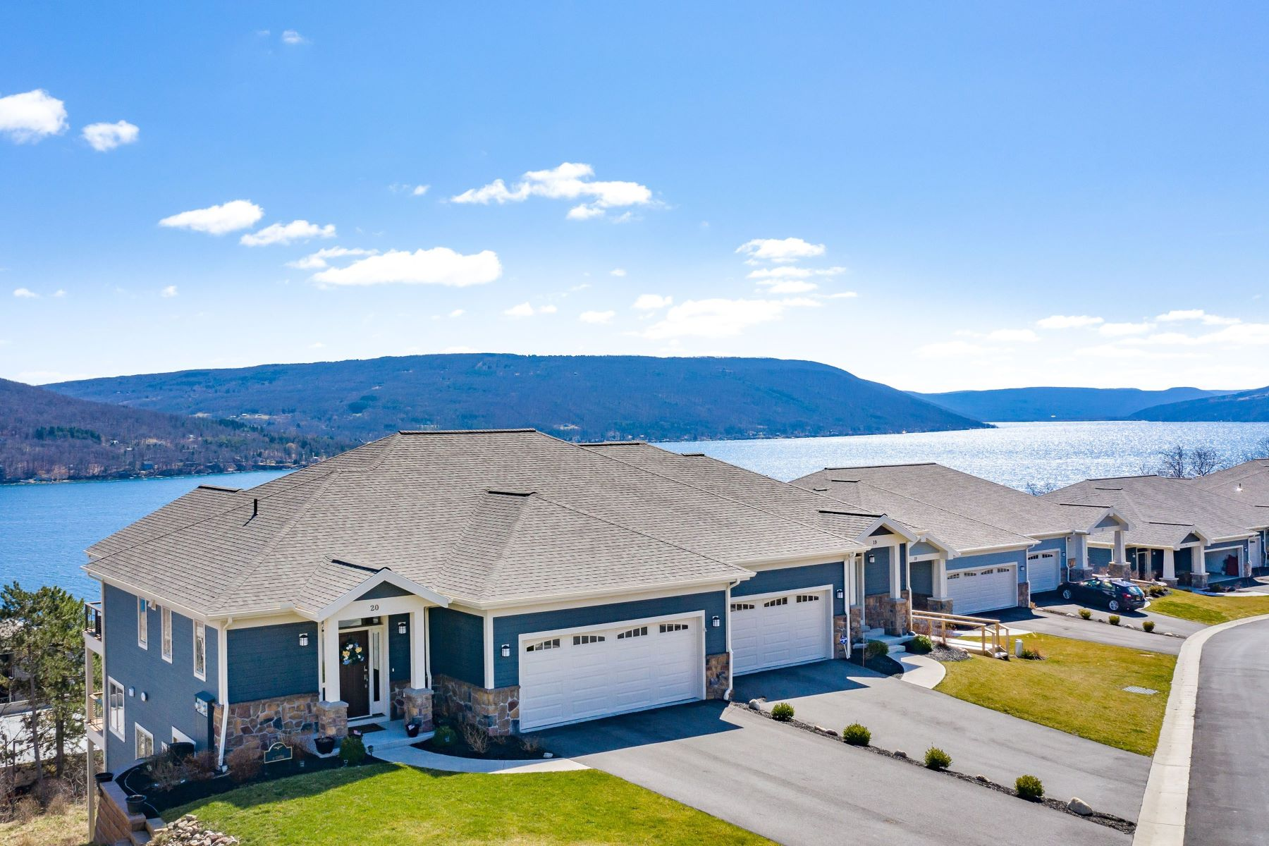"""Condominiums for Active at """"Nautical Retreat"""" 20 Terrace Drive Canandaigua, New York 14424 United States"""