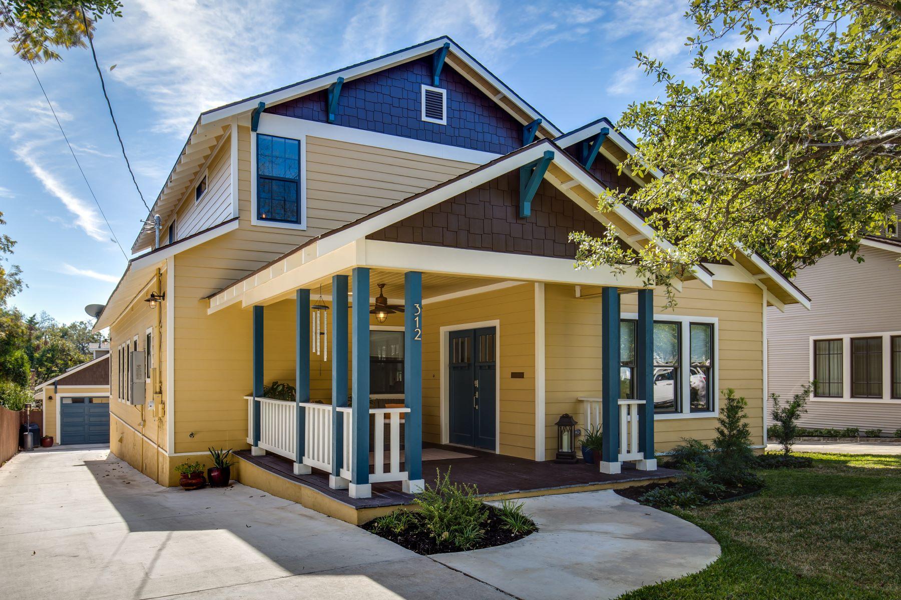 Vivienda unifamiliar por un Venta en Spacious Home in Alamo Heights 312 Argo Avenue San Antonio, Texas 78209 Estados Unidos