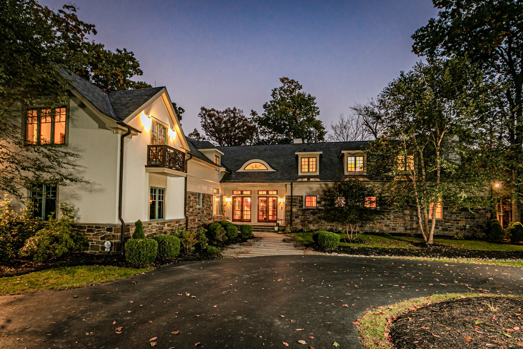 Single Family Homes for Active at Luxury Craftsman Home Perched Above Stoney Brook 37 Stoney Brook Lane Princeton, New Jersey 08540 United States