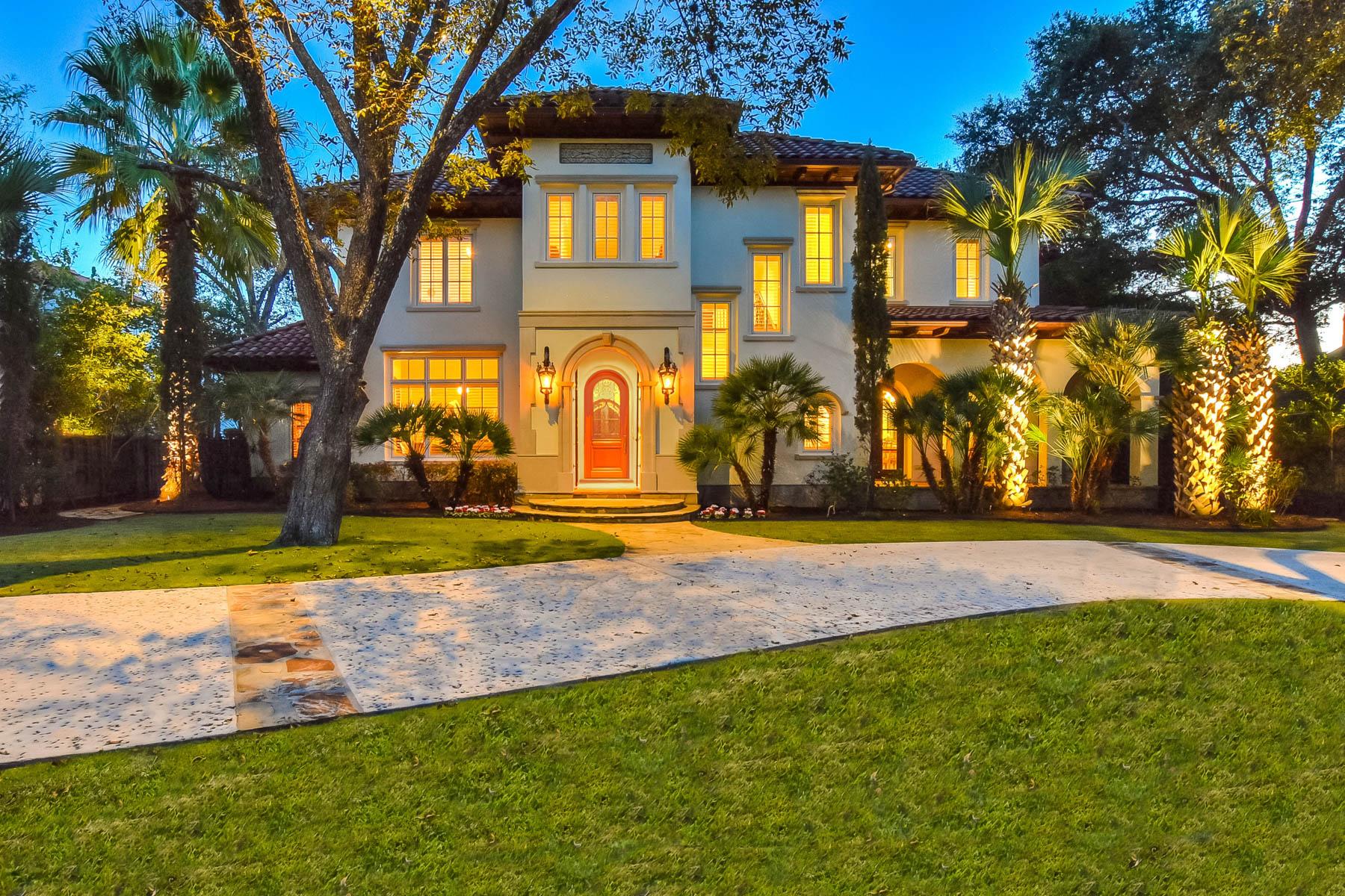 Casa para uma família para Venda às Timeless Style and Sophisticated Grandeur 512 Terrell Road, San Antonio, Texas, 78209 Estados Unidos