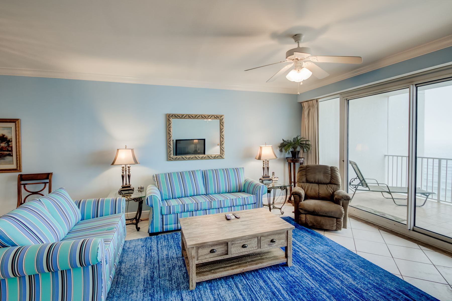 Condominiums for Sale at Corner Unit with Gulf Front Master Suite 6415 Thomas Drive 505, Panama City Beach, Florida 32408 United States