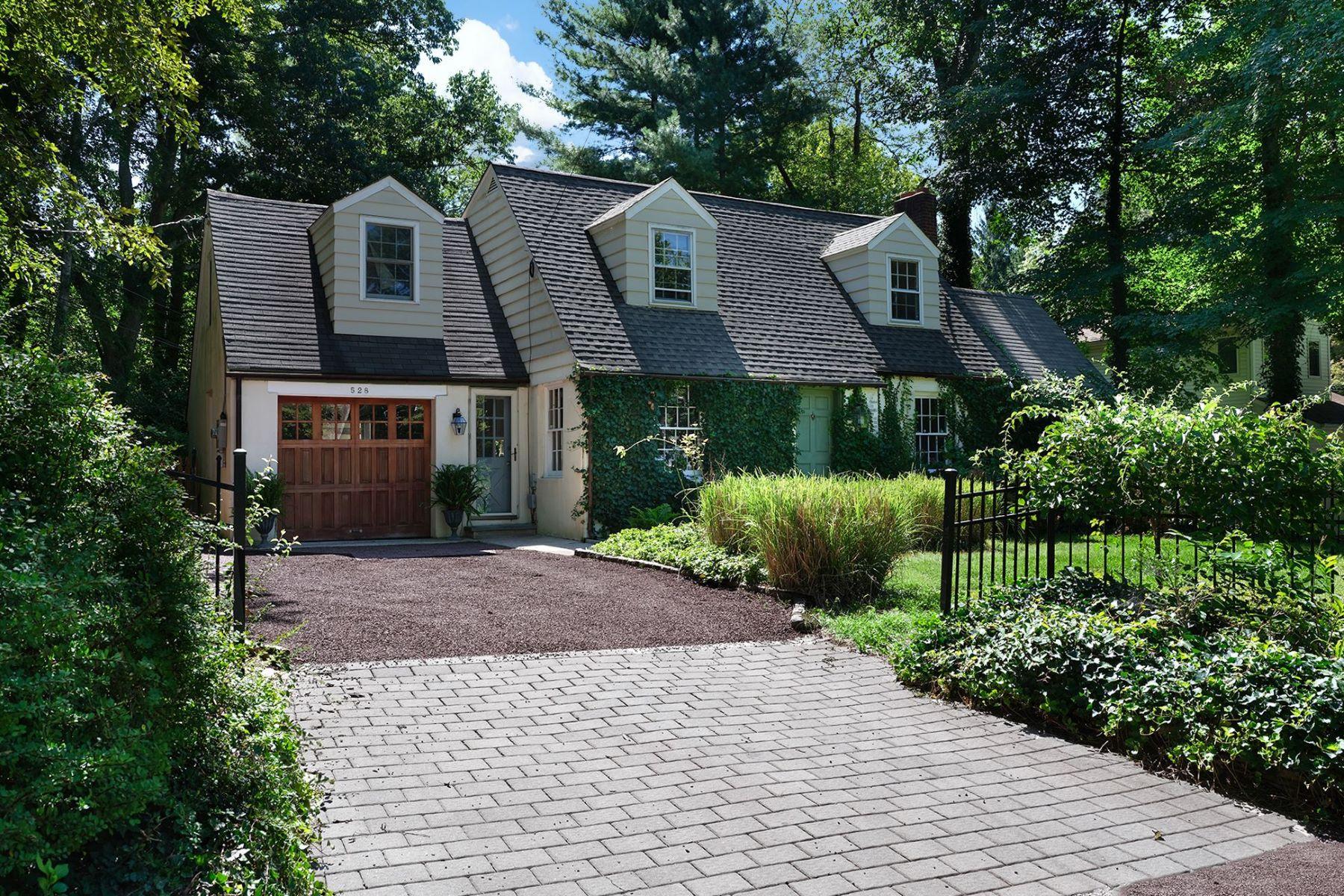 Single Family Homes のために 売買 アット Cottage Style Backing to Battlefield Park 528 Mercer Road, Princeton, ニュージャージー 08540 アメリカ