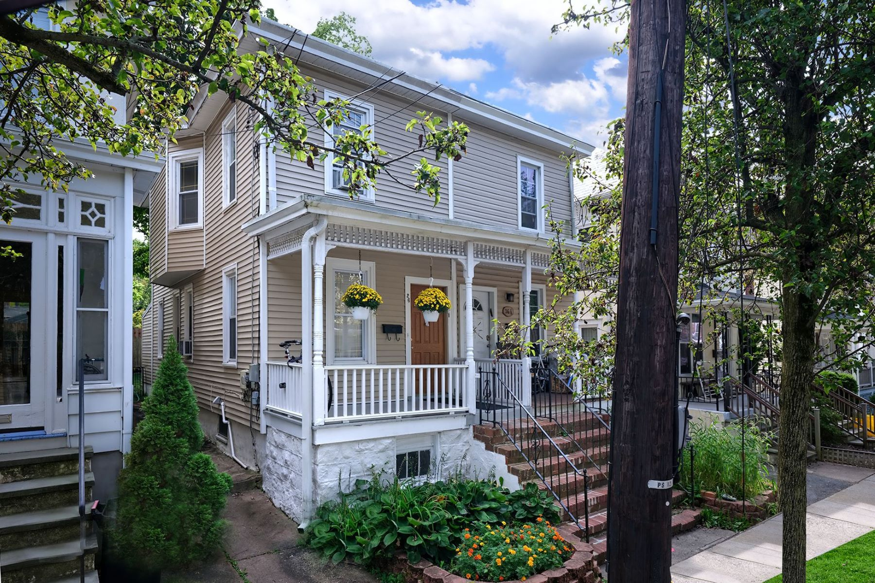 Duplex Homes for Sale at Settle in to this Steps-From-Everything Twin 26 Leigh Avenue, Princeton, New Jersey 08542 United States