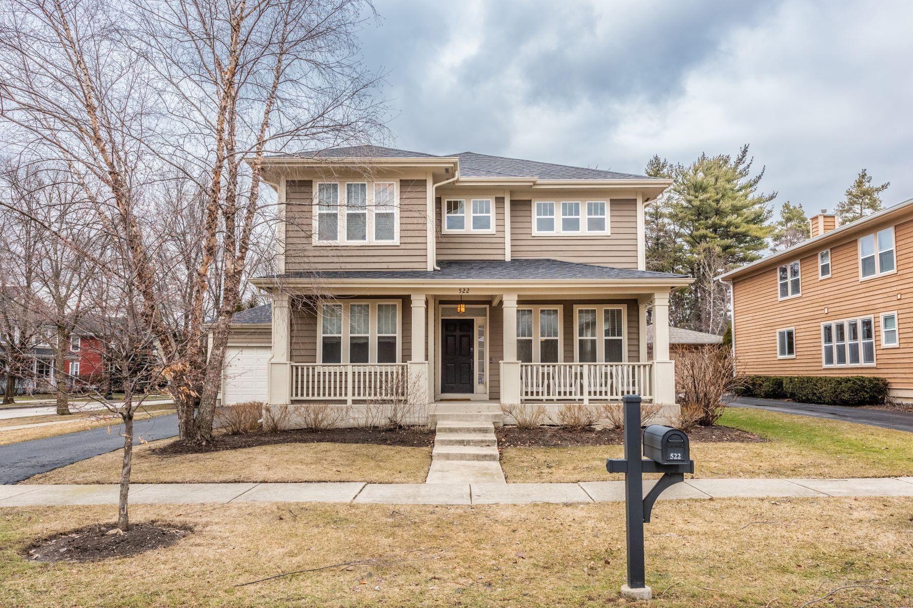 Частный односемейный дом для того Продажа на Centennial Crossing Home 522 Superior Street Vernon Hills, Иллинойс 60061 Соединенные Штаты
