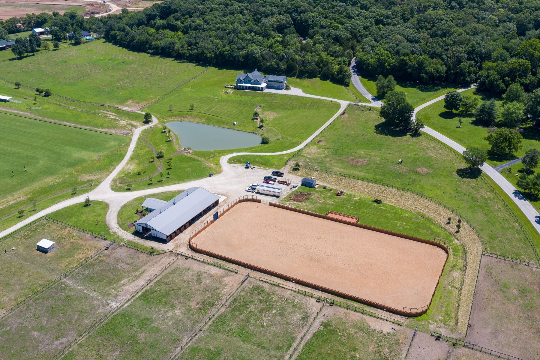 Single Family Homes for Sale at Southern Springs Farm Premier Polo Estate 96 High Trails Drive Eureka, Missouri 63025 United States