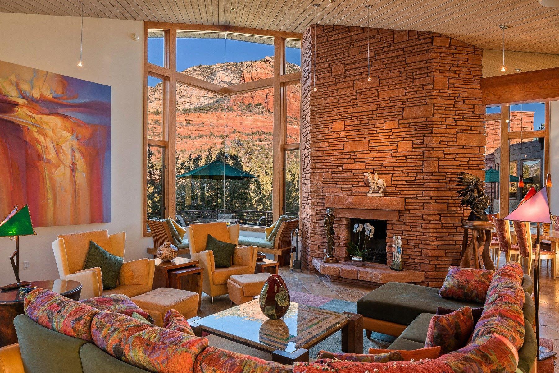 Single Family Homes για την Πώληση στο North Slopes 45 N Slopes Drive, Sedona, Αριζονα 86336 Ηνωμένες Πολιτείες