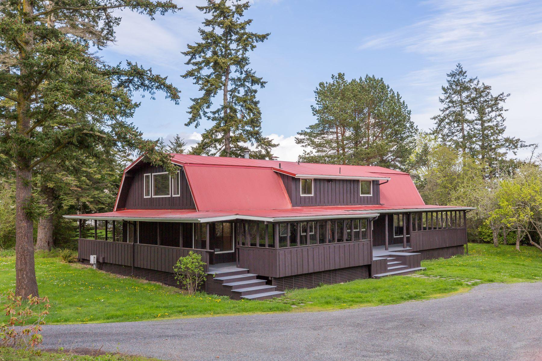 Single Family Homes por un Venta en 1989 Cattle Point Road, Friday Harbor, WA 98250 1989 Cattle Point Rd Friday Harbor, Washington 98250 Estados Unidos