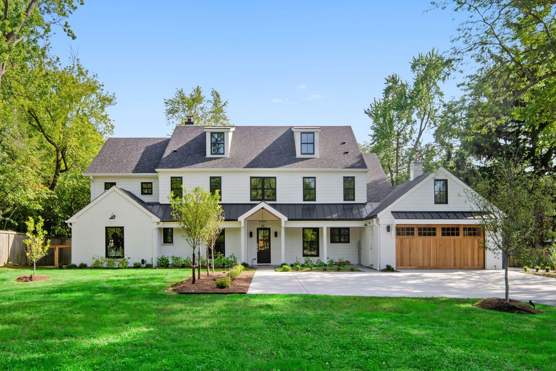 Single Family Homes por un Venta en Exquisite Modern Farmhouse 1360 Trapp Lane Winnetka, Illinois 60093 Estados Unidos