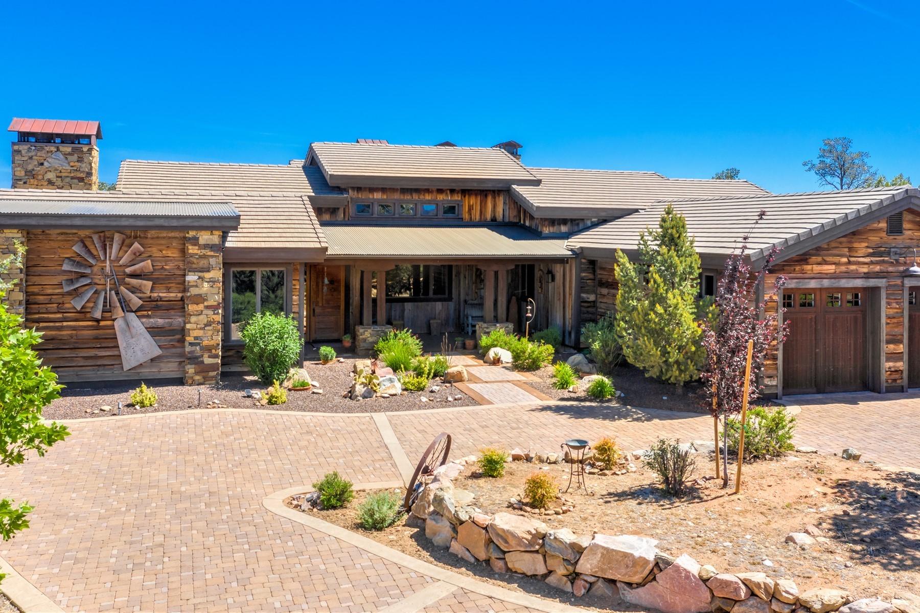 Single Family Homes 为 销售 在 Talking Rock 5185 W Three Forks Road 普雷斯科特, 亚利桑那州 86305 美国