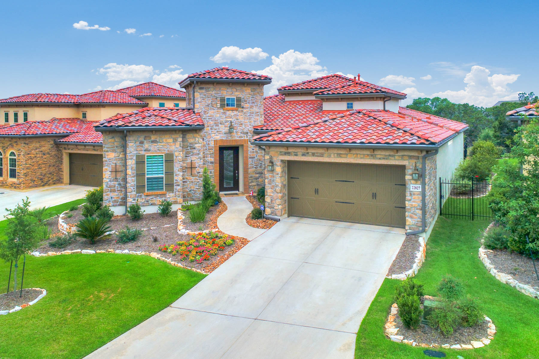 Single Family Home for Sale at Exceptional Home in a Tranquil Setting 22827 Estacado San Antonio, Texas 78261 United States