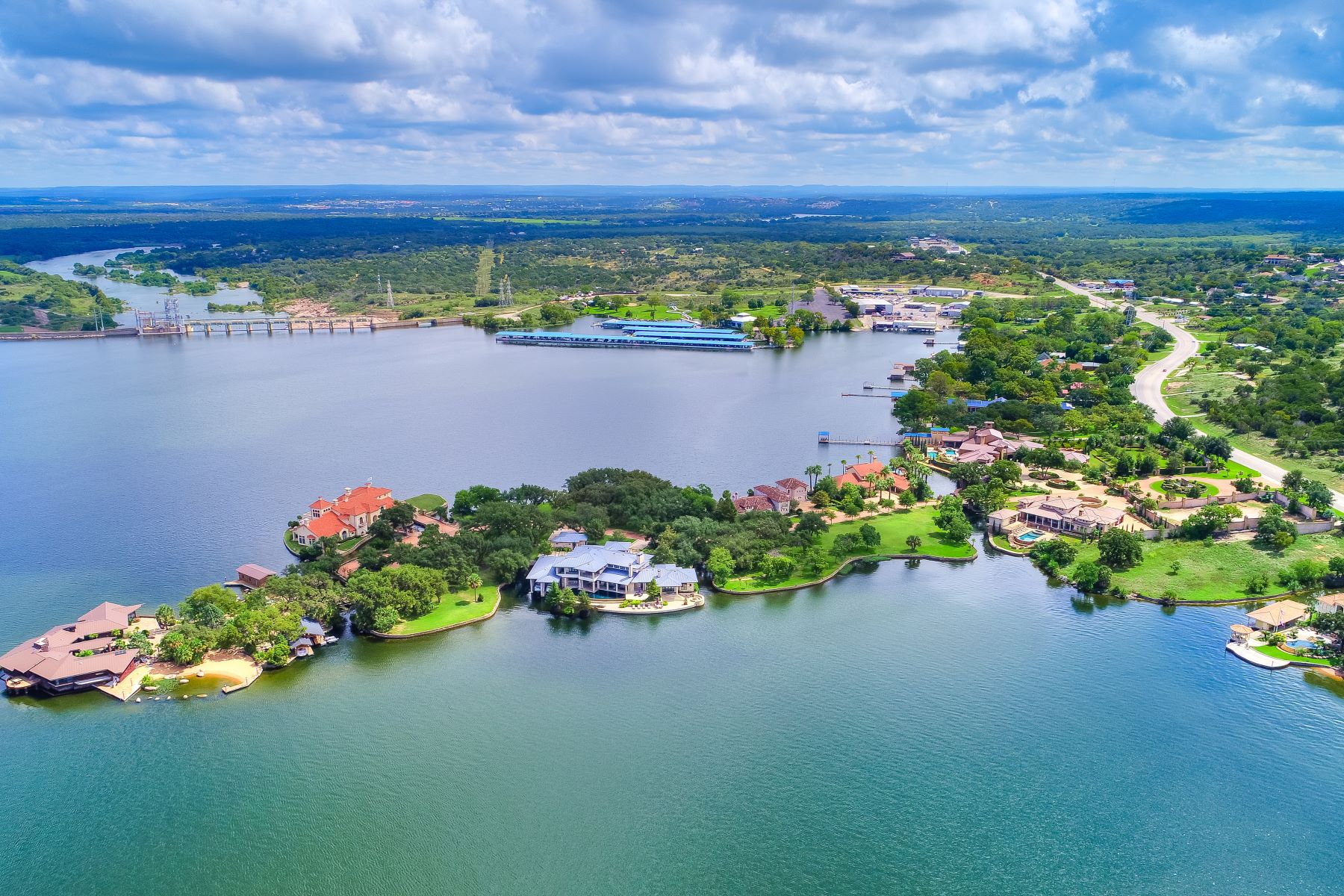 Land for Active at One of the Most Exquisite Estate Building Sites on Lake LBJ Legacy Lot 7-B Estate Drive Horseshoe Bay, Texas 78657 United States