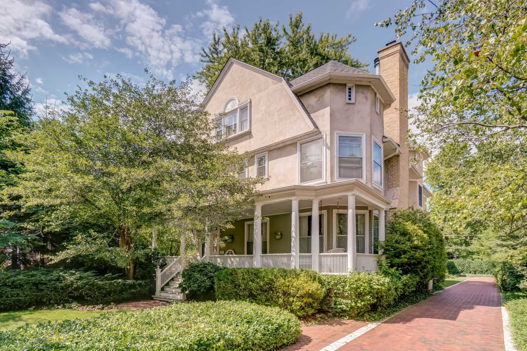 Single Family Home for Active at Light Filled Victorian Home 221 Dempster Street Evanston, Illinois 60201 United States