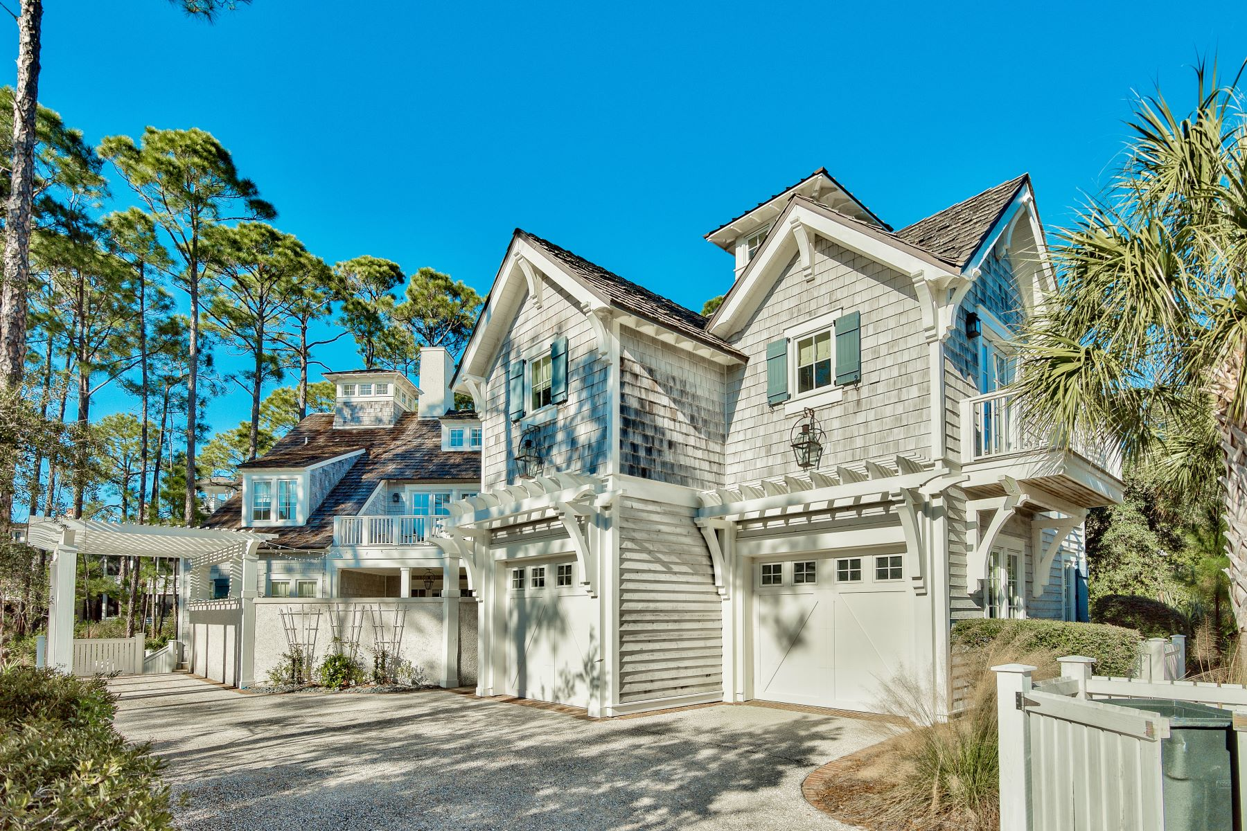 Single Family Homes for Sale at Custom Gulf View Home on Generous Corner Lot 8 Shingle Lane, Watersound, Florida 32461 United States