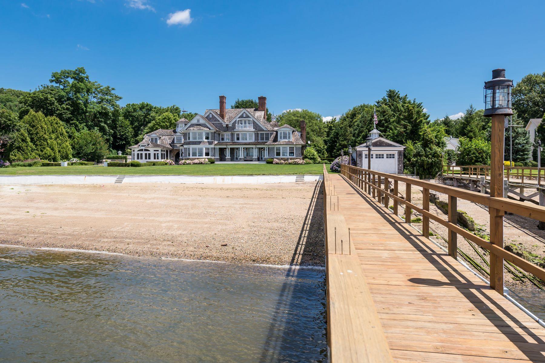 Single Family Homes 為 出售 在 14 Plum Beach Point Road, Sands Point, Ny, 11050 Sands Point, 纽约 11050 美國