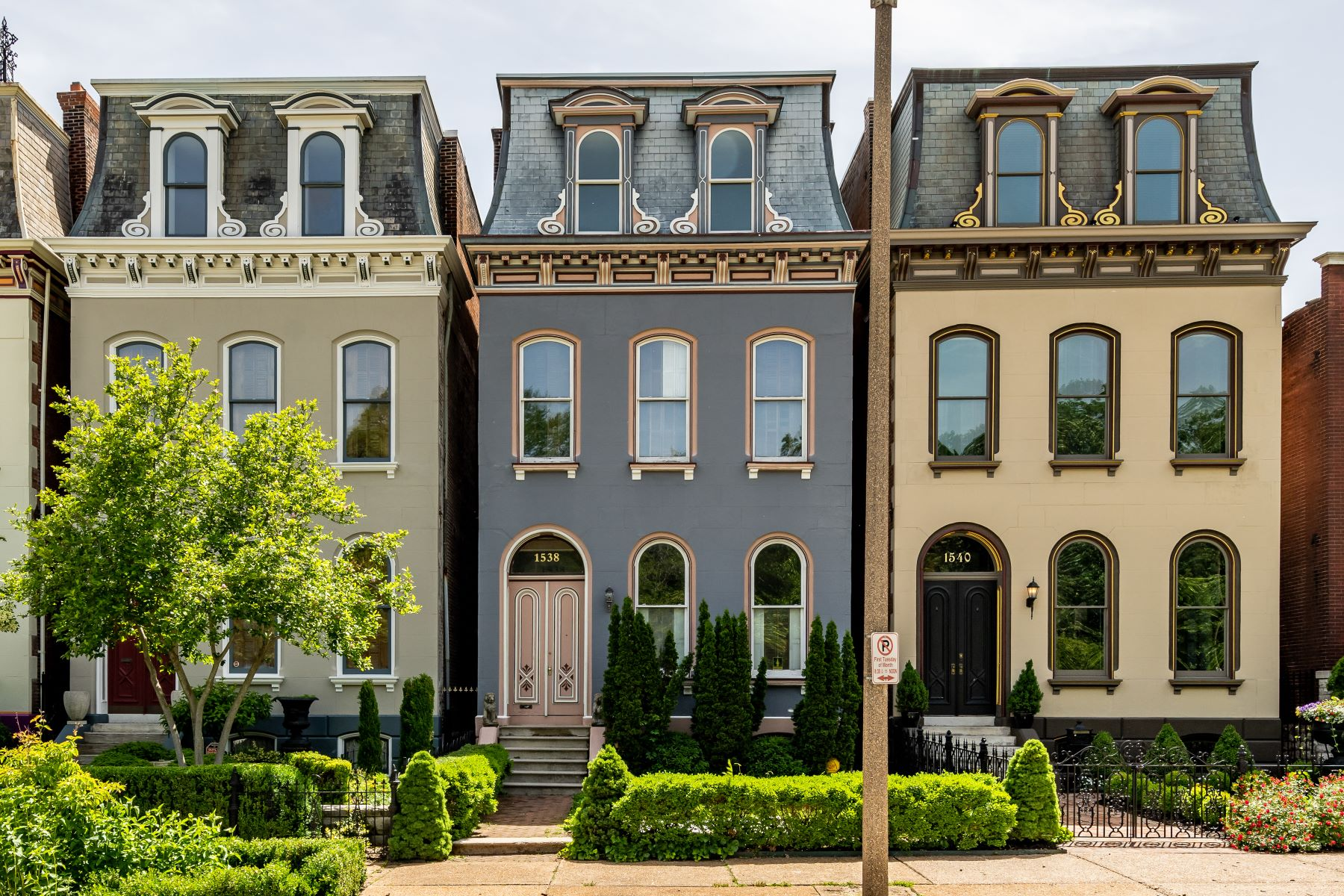 single family homes for Sale at Historic Victorian Home in Lafayette Square 1538 Mississippi Avenue St. Louis, Missouri 63104 United States