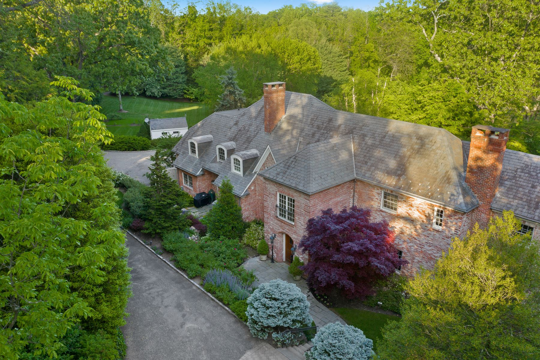 Single Family Homes 為 出售 在 312 Feeks Ln, Mill Neck, Ny, 11765 Mill Neck, 纽约 11765 美國
