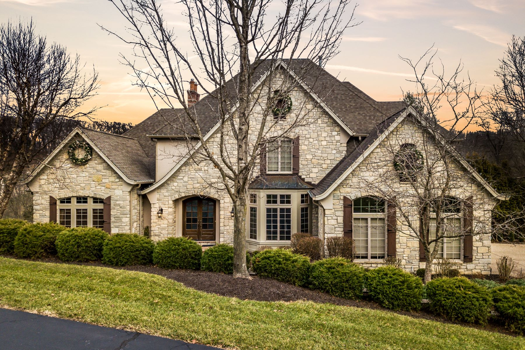 Single Family Homes for Sale at Suburban Living on 2.9 Wooded Acres 1828 Wills Trace Ridge Wildwood, Missouri 63005 United States