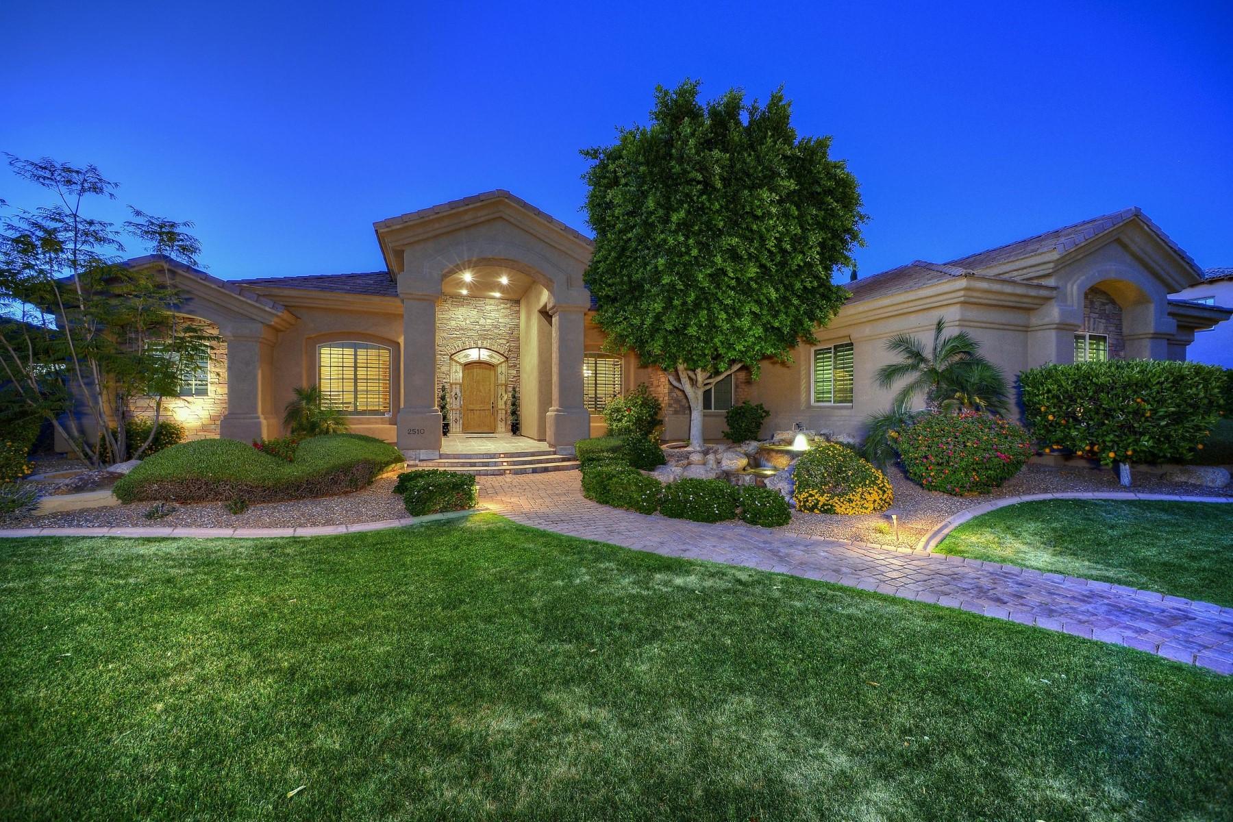 Single Family Homes 용 매매 에 Glenwood Parke 2510 E MINTON ST, Mesa, 아리조나 85213 미국
