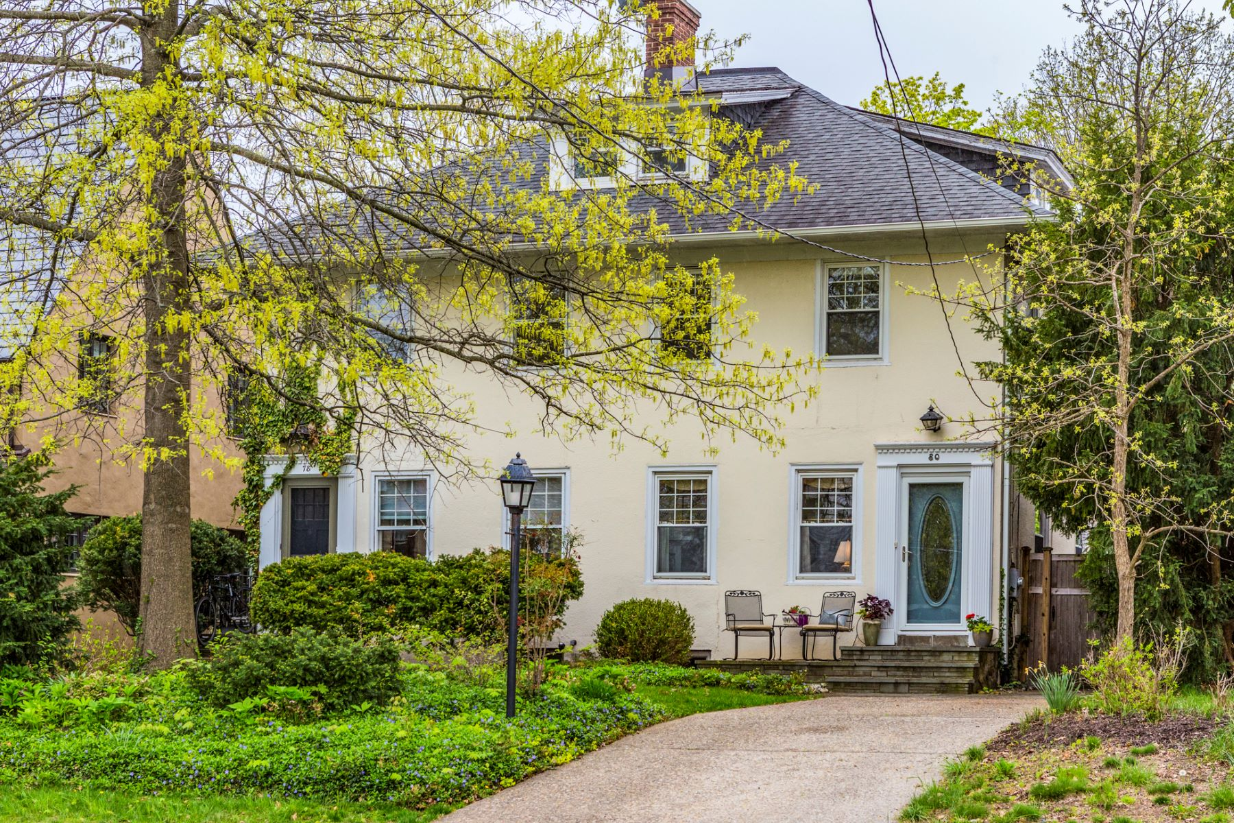 Property のために 売買 アット A Secret Garden and a Fantastic In-Town Location 80 Jefferson Road, Princeton, ニュージャージー 08540 アメリカ