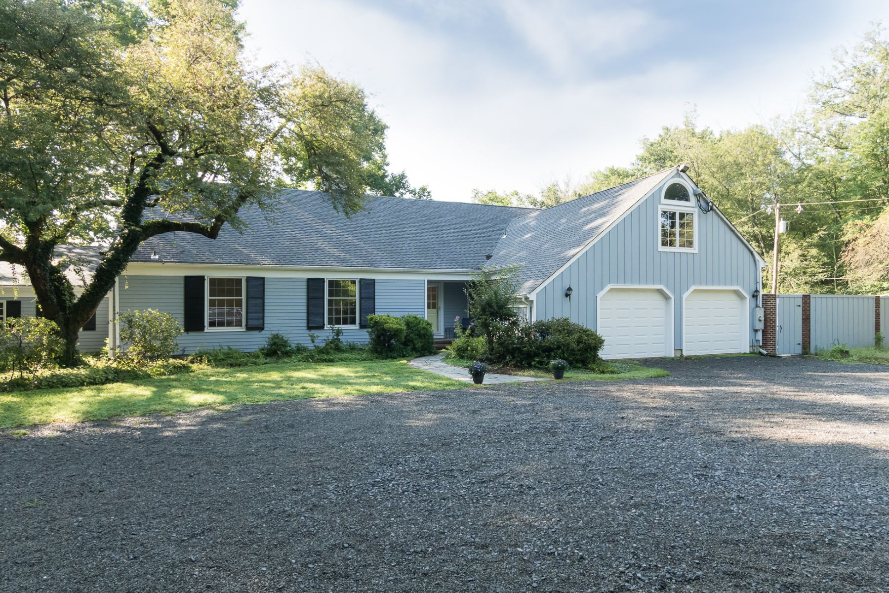 Single Family Homes for Sale at Large Princeton Colonial With Vistas of Open Land 1040 Mercer Road, Princeton, New Jersey 08540 United States