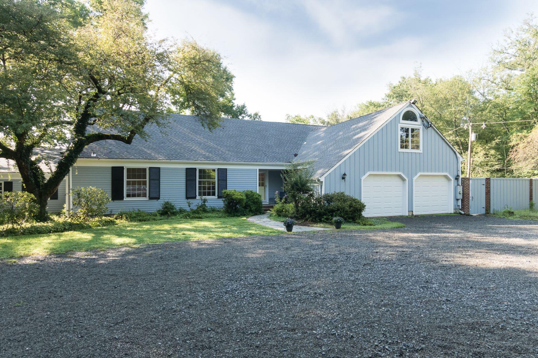 Single Family Homes för Försäljning vid Large Princeton Colonial With Vistas of Open Land 1040 Mercer Road, Princeton, New Jersey 08540 Förenta staterna