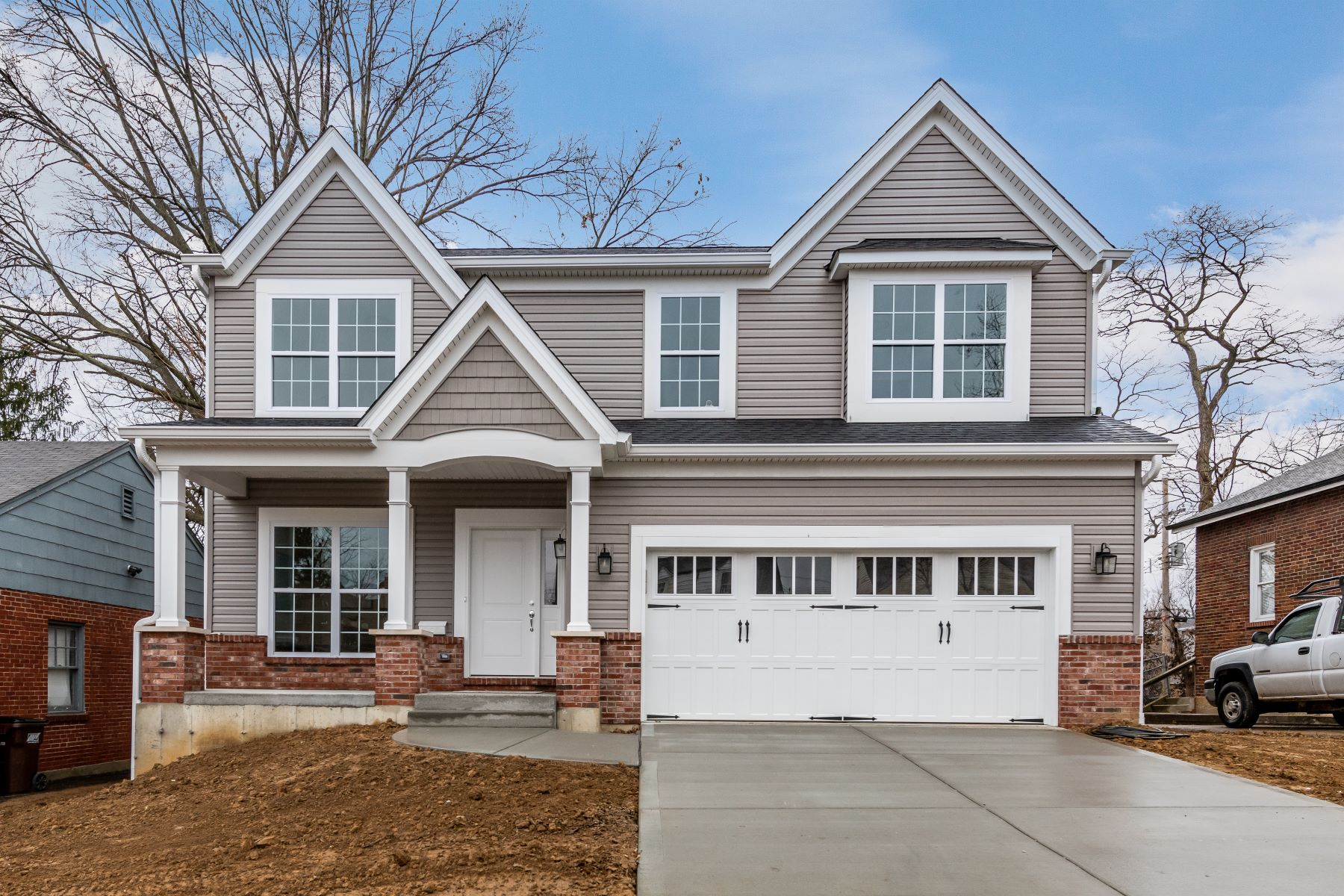 Single Family Homes for Sale at Beautiful New Construction in Olivette 1111 Collingwood Drive Olivette, Missouri 63132 United States
