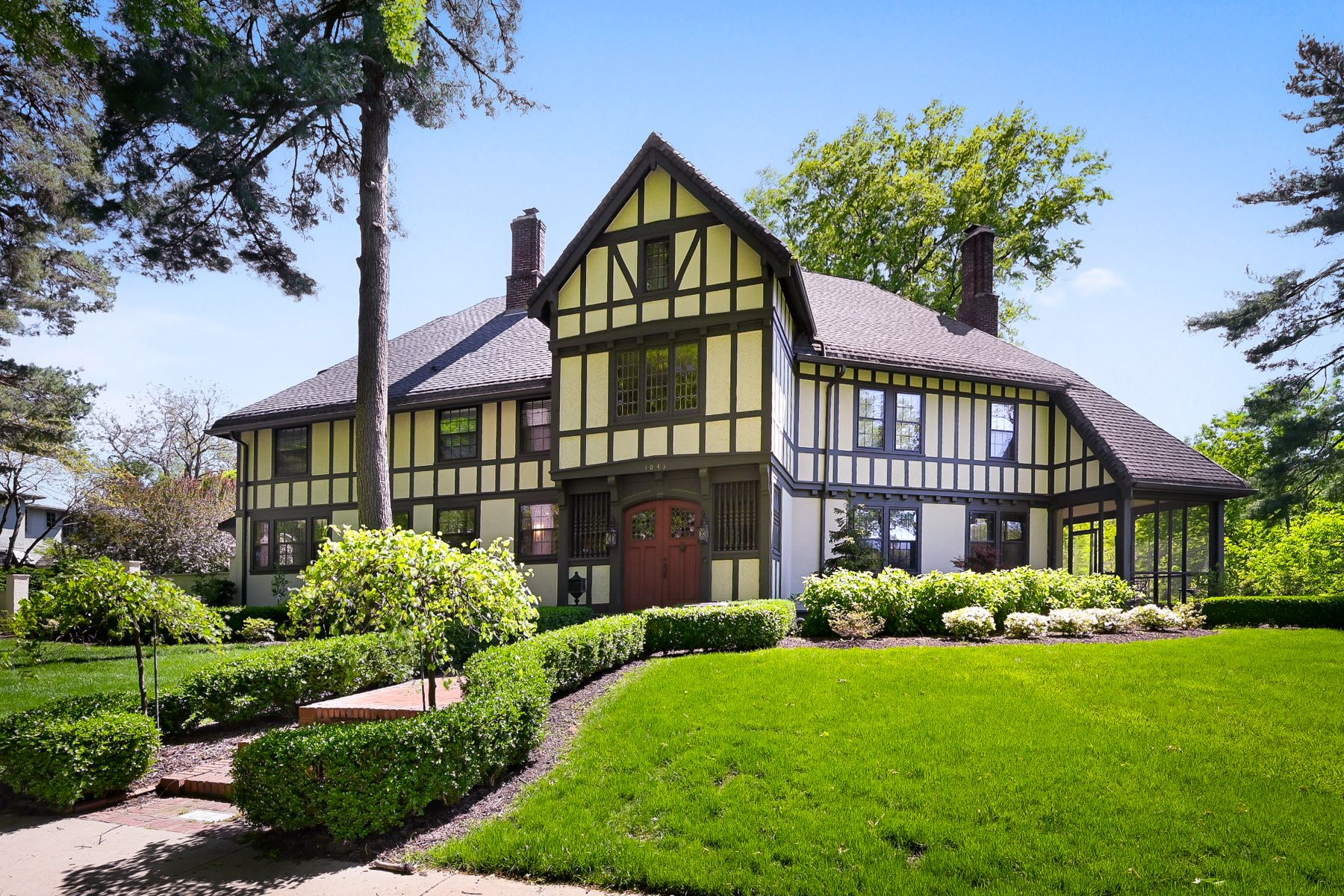 Single Family Homes for Active at Stunning Landmark Tudor 1043 West 57th Terrace Kansas City, Missouri 64113 United States