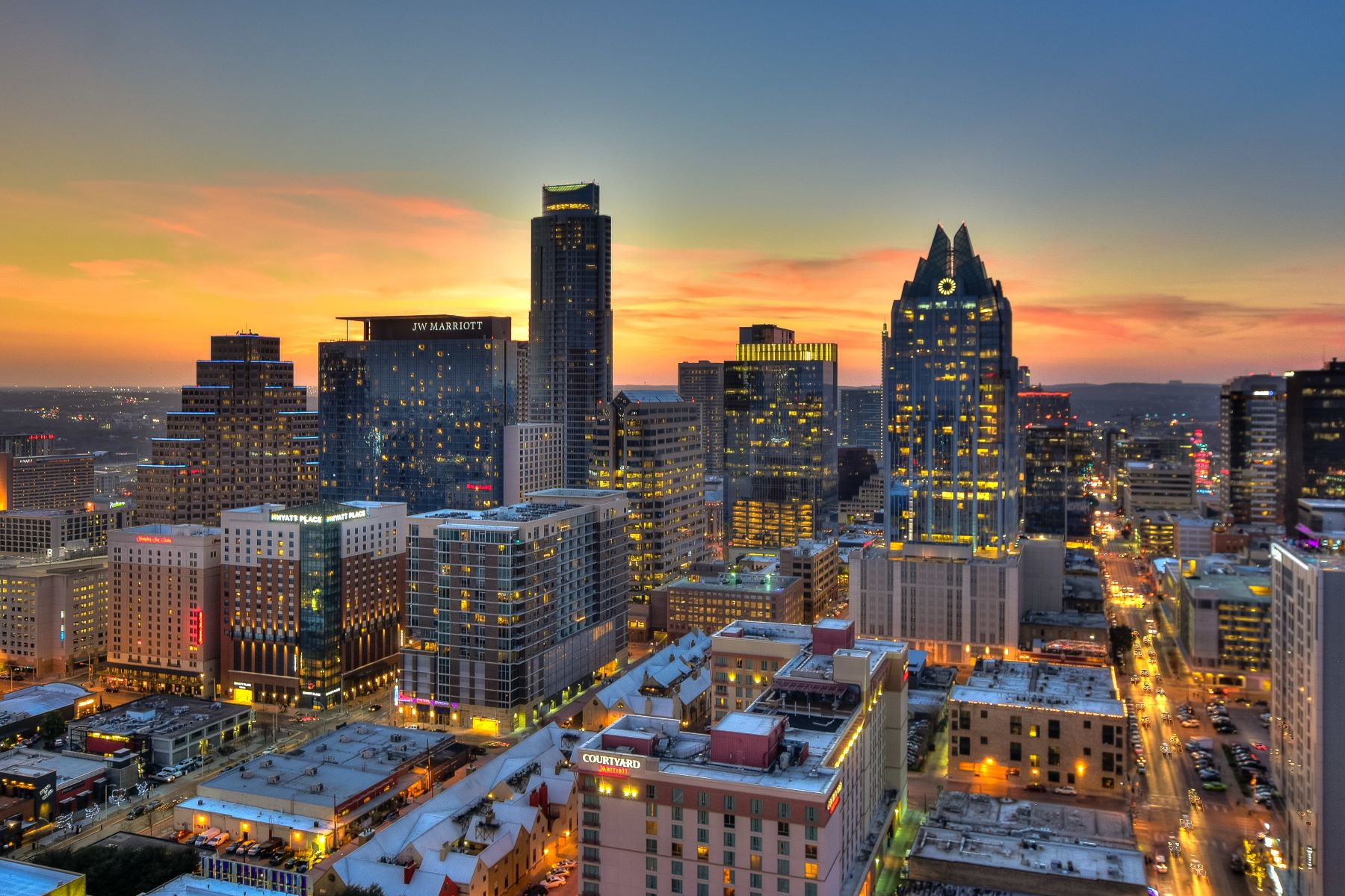 Condominium for Sale at LIVE in the Clouds 555 East 5th Street #2912 Austin, Texas 78701 United States